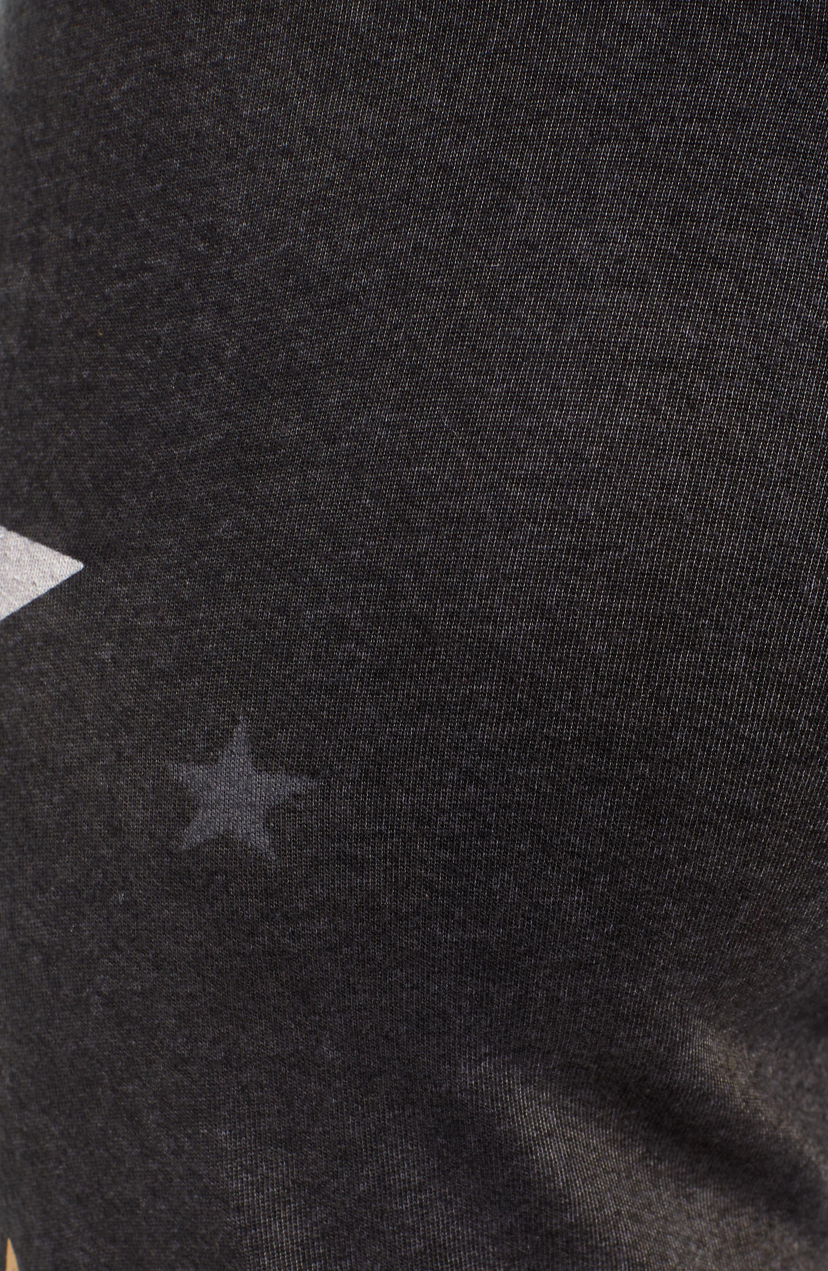 Stars Sweatpants,                             Alternate thumbnail 5, color,                             VINTAGE BLACK