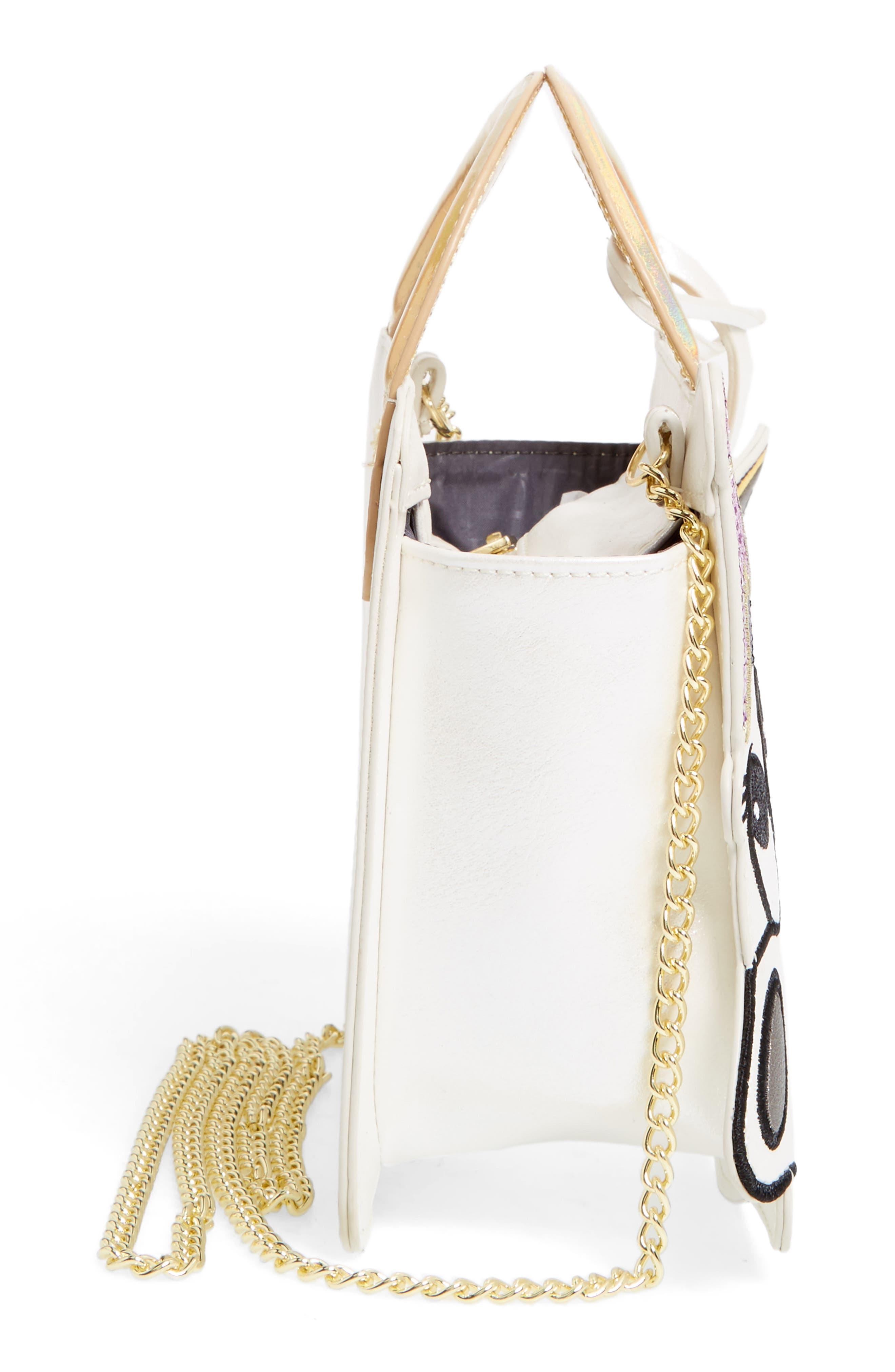 DANIELLE NICOLE,                             x Disney<sup>®</sup> Mrs. Potts & Chip Faux Leather Crossbody Bag,                             Alternate thumbnail 5, color,                             040