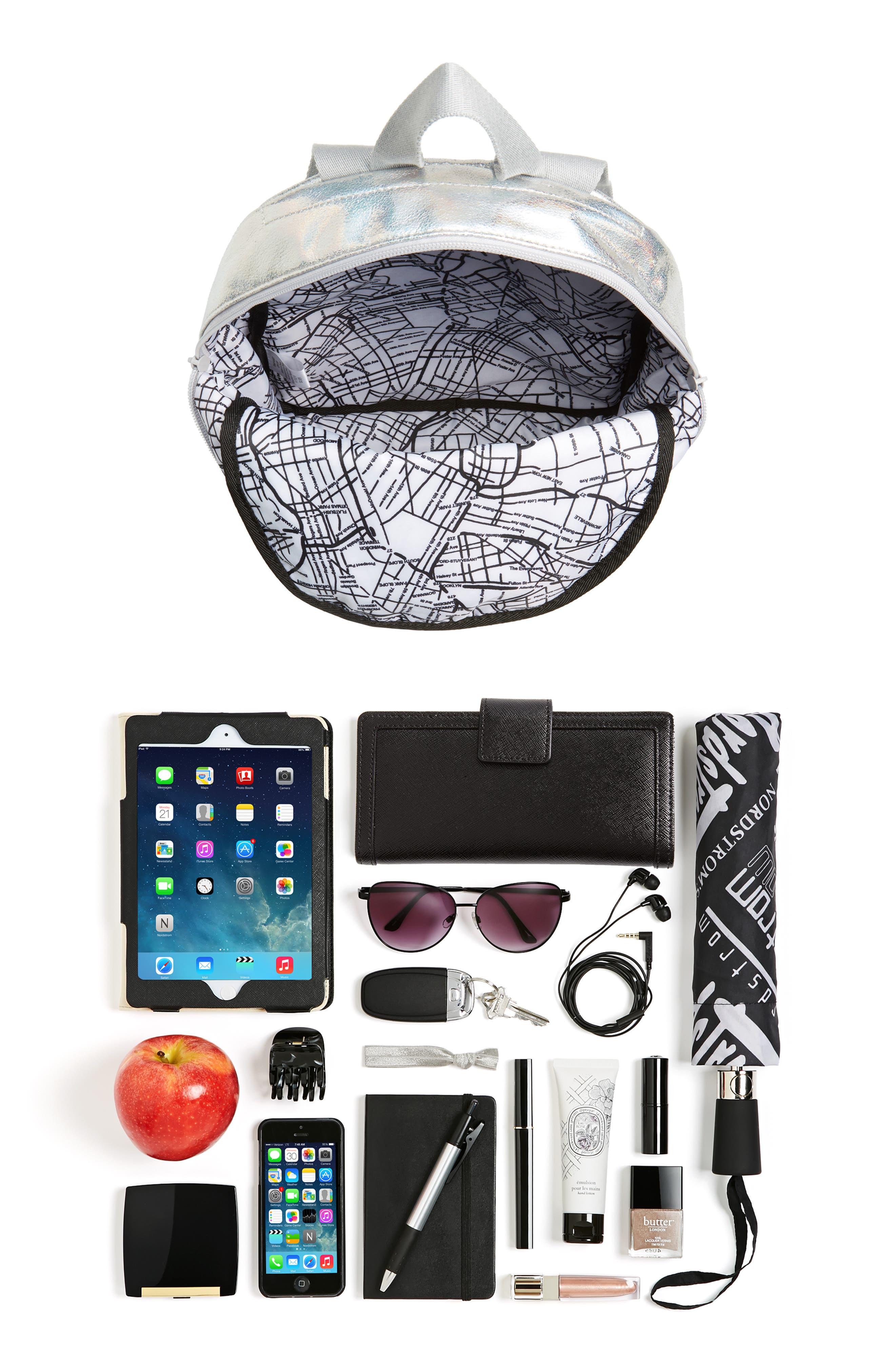 Starrett City - Mini Kane Iridescent Backpack,                             Alternate thumbnail 7, color,                             040
