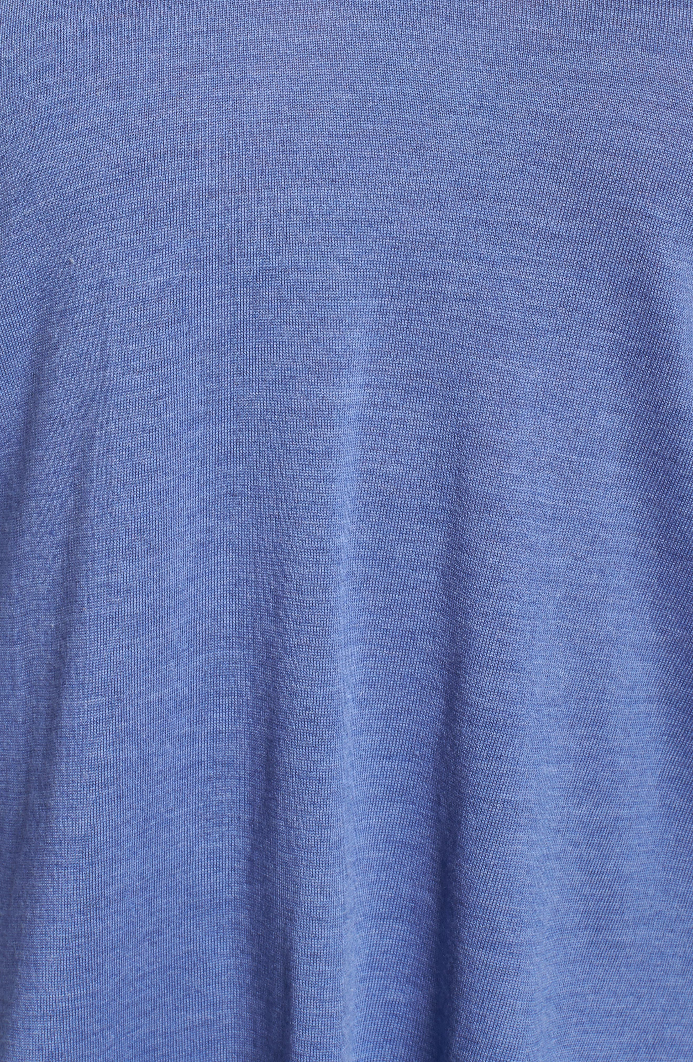 Merino Wool Tunic Sweater,                             Alternate thumbnail 23, color,