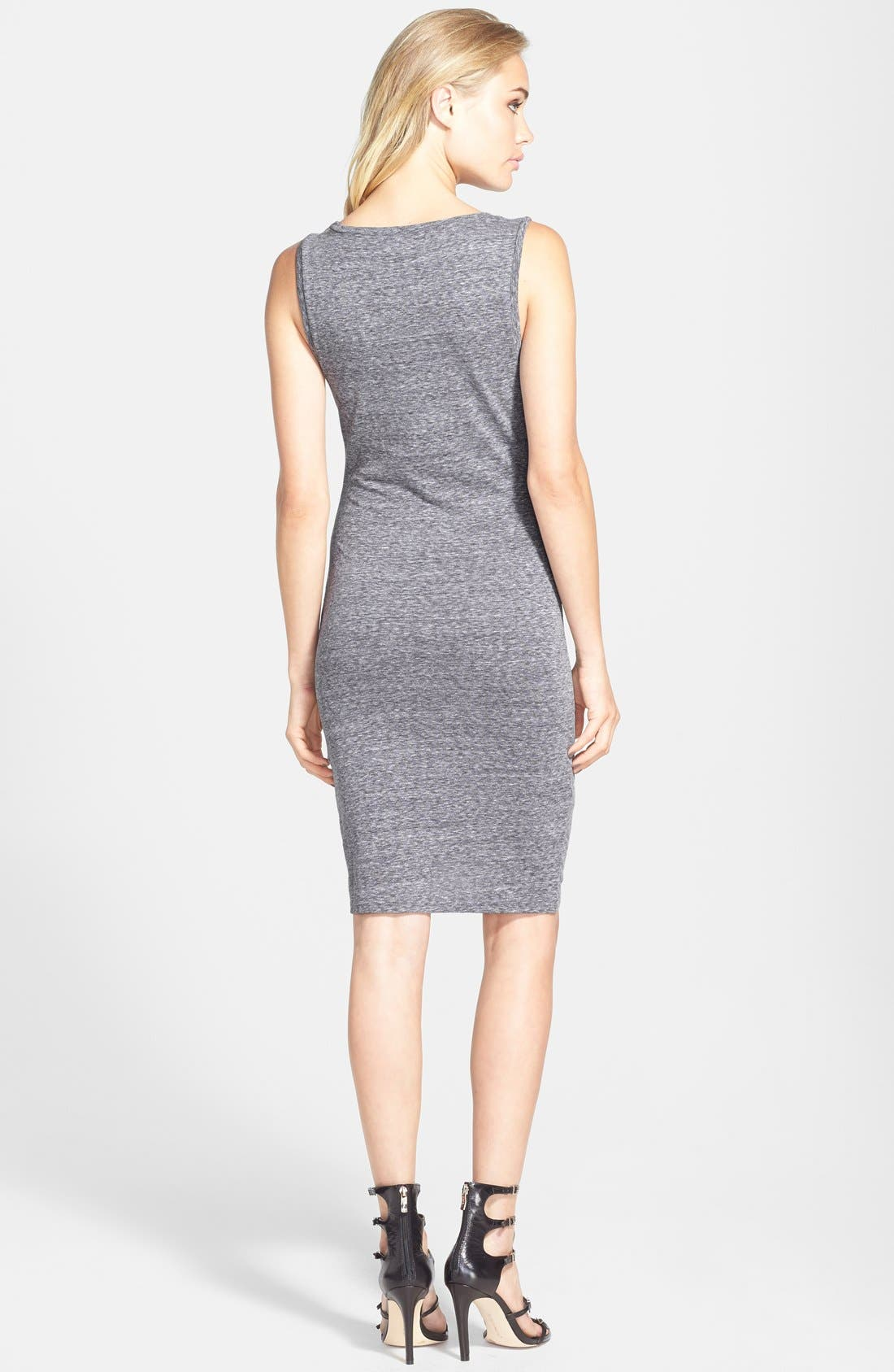 Ruched Body-Con Tank Dress,                             Alternate thumbnail 93, color,