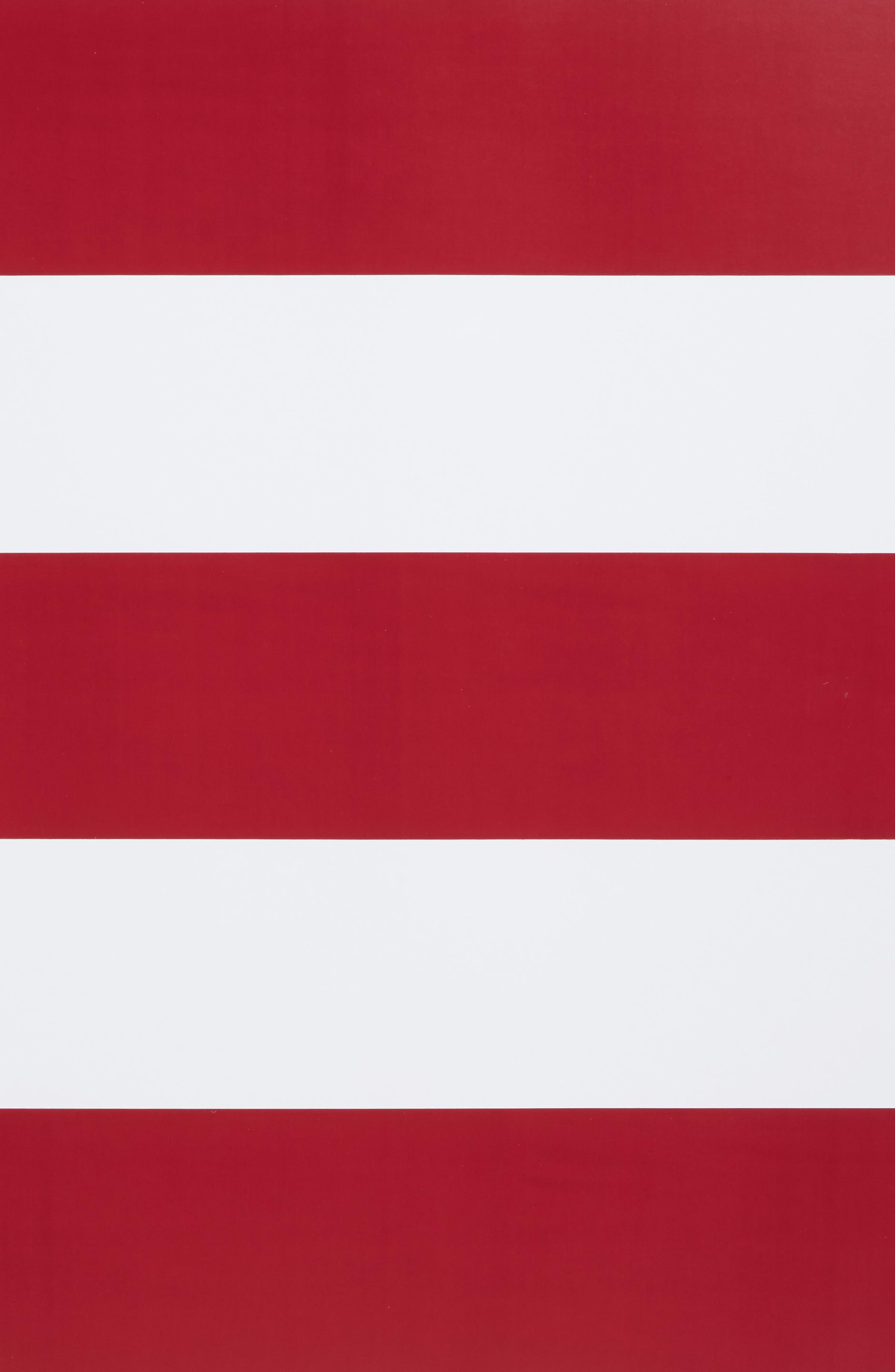 Dark Red  Peel & Stick Vinyl Stripes,                             Alternate thumbnail 3, color,