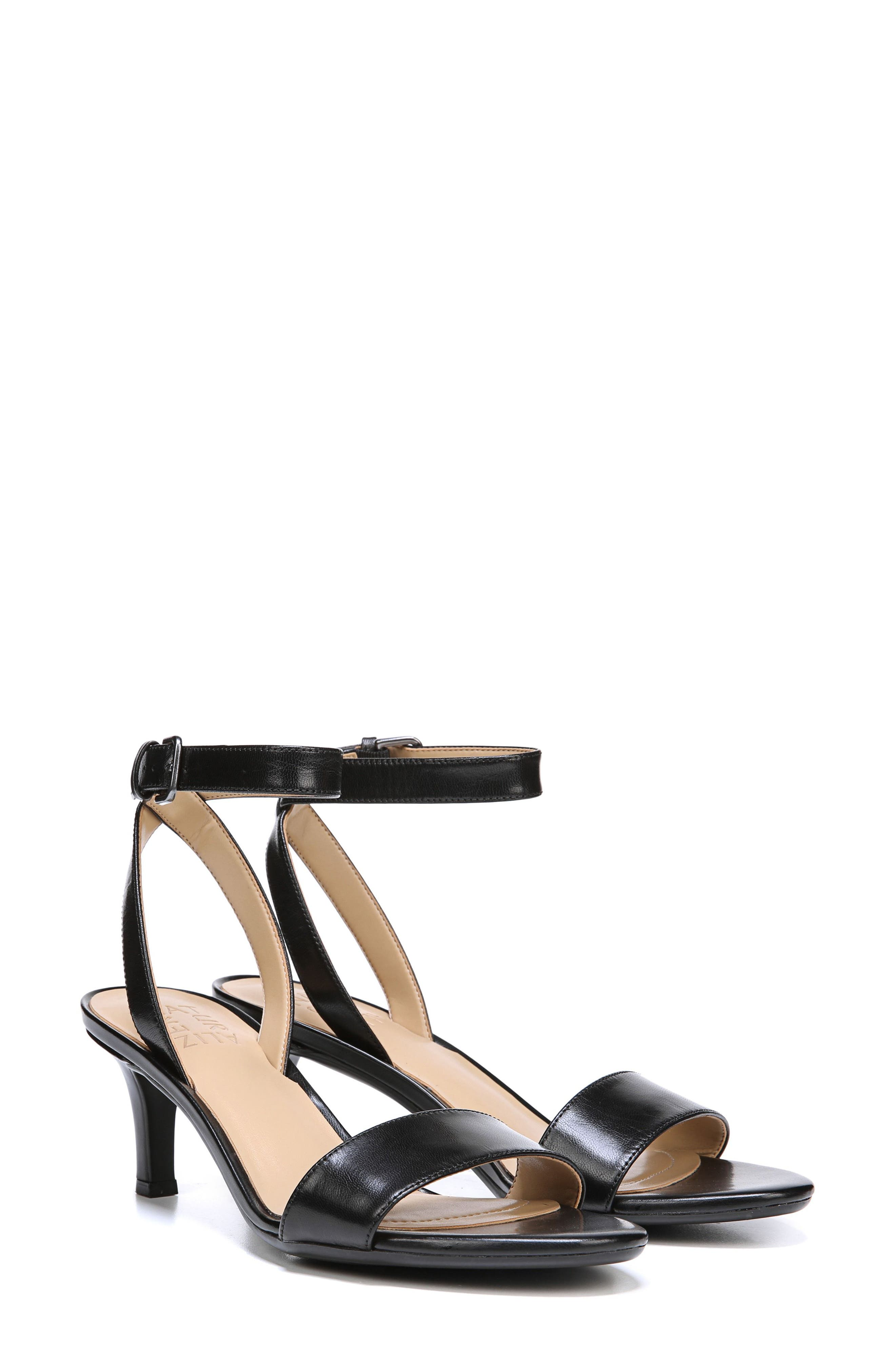 Tinda Sandal,                             Alternate thumbnail 7, color,                             BLACK LEATHER