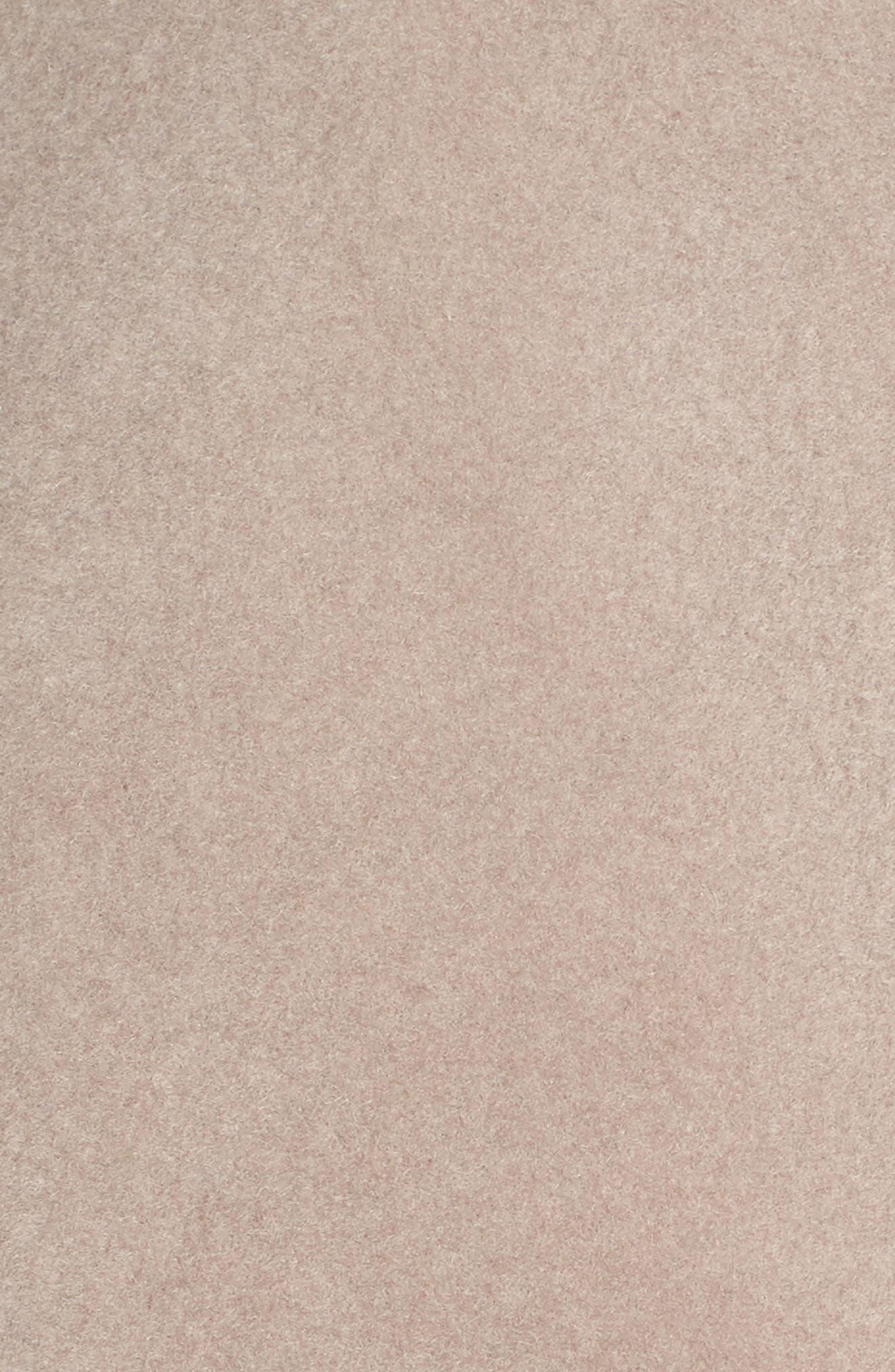 Marla Cutaway Wrap Coat with Oversize Collar,                             Alternate thumbnail 18, color,