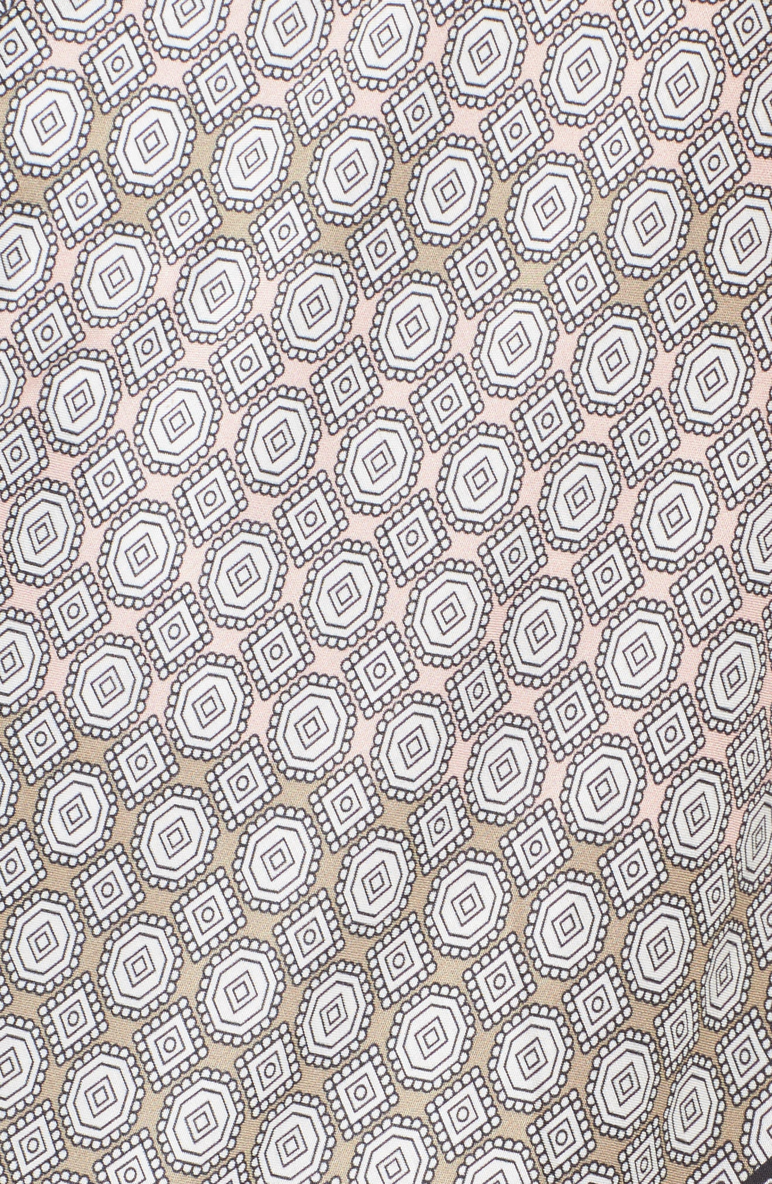 Harbour Foulard Twist Cover-Up Caftan,                             Alternate thumbnail 5, color,                             100