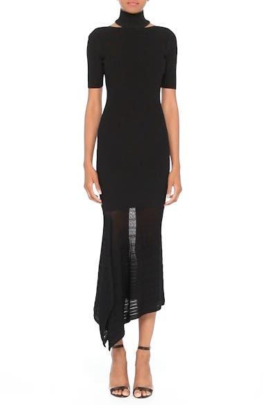 Asymmetrical Knit Dress, video thumbnail