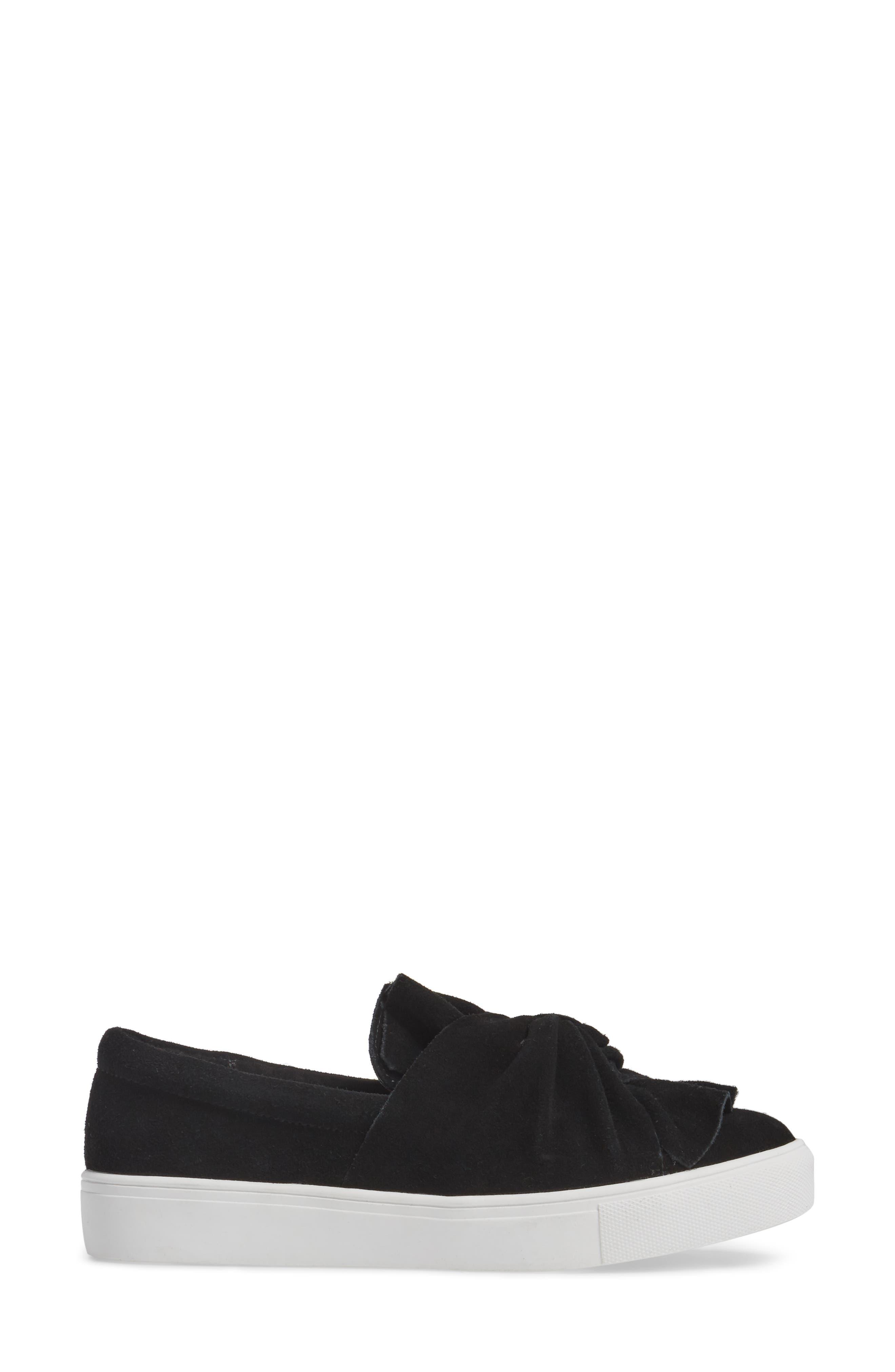 Zahara Slip-On Sneaker,                             Alternate thumbnail 3, color,                             001