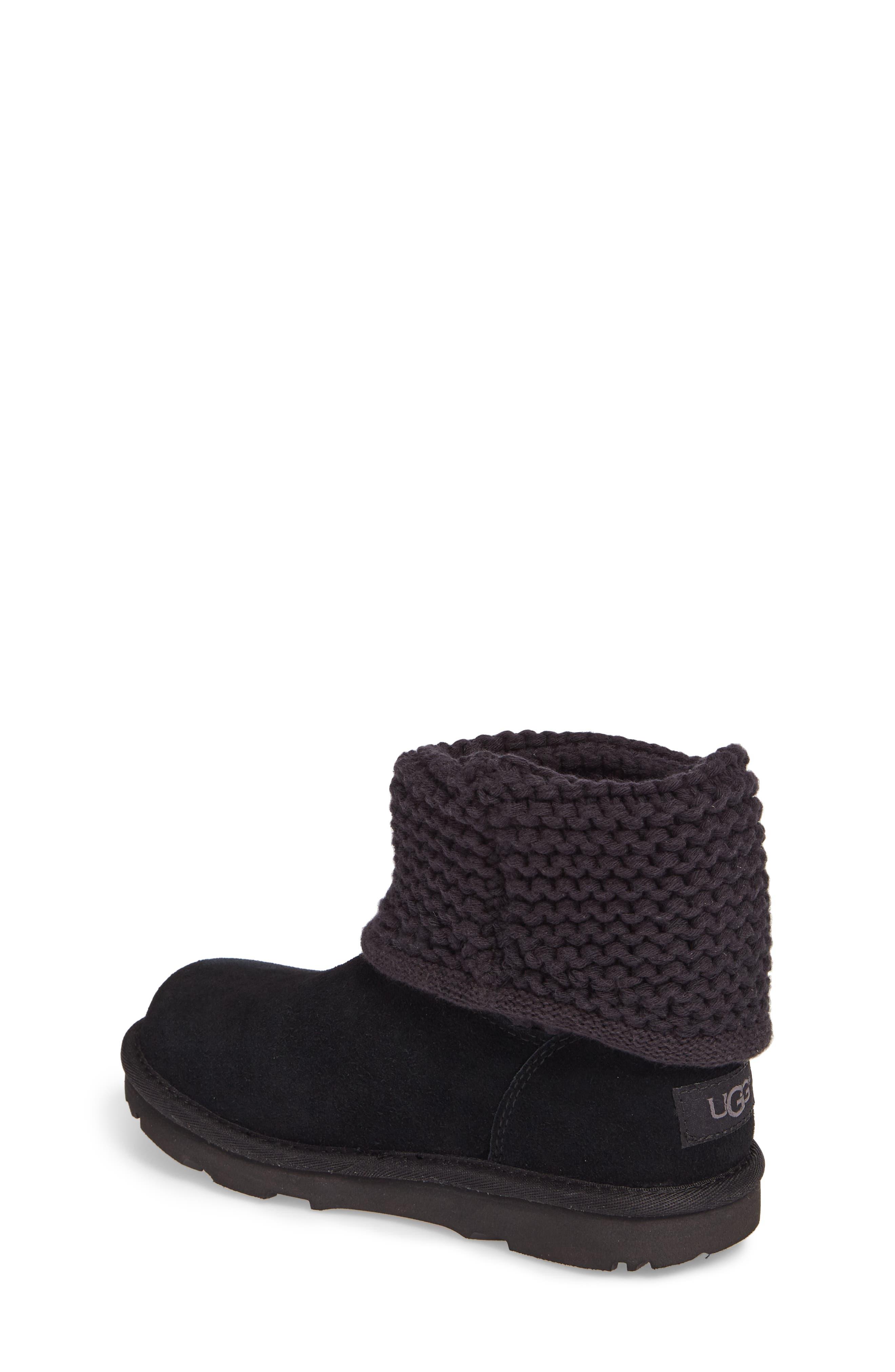 Darrah II Knit Cuff Boot,                             Alternate thumbnail 2, color,                             001