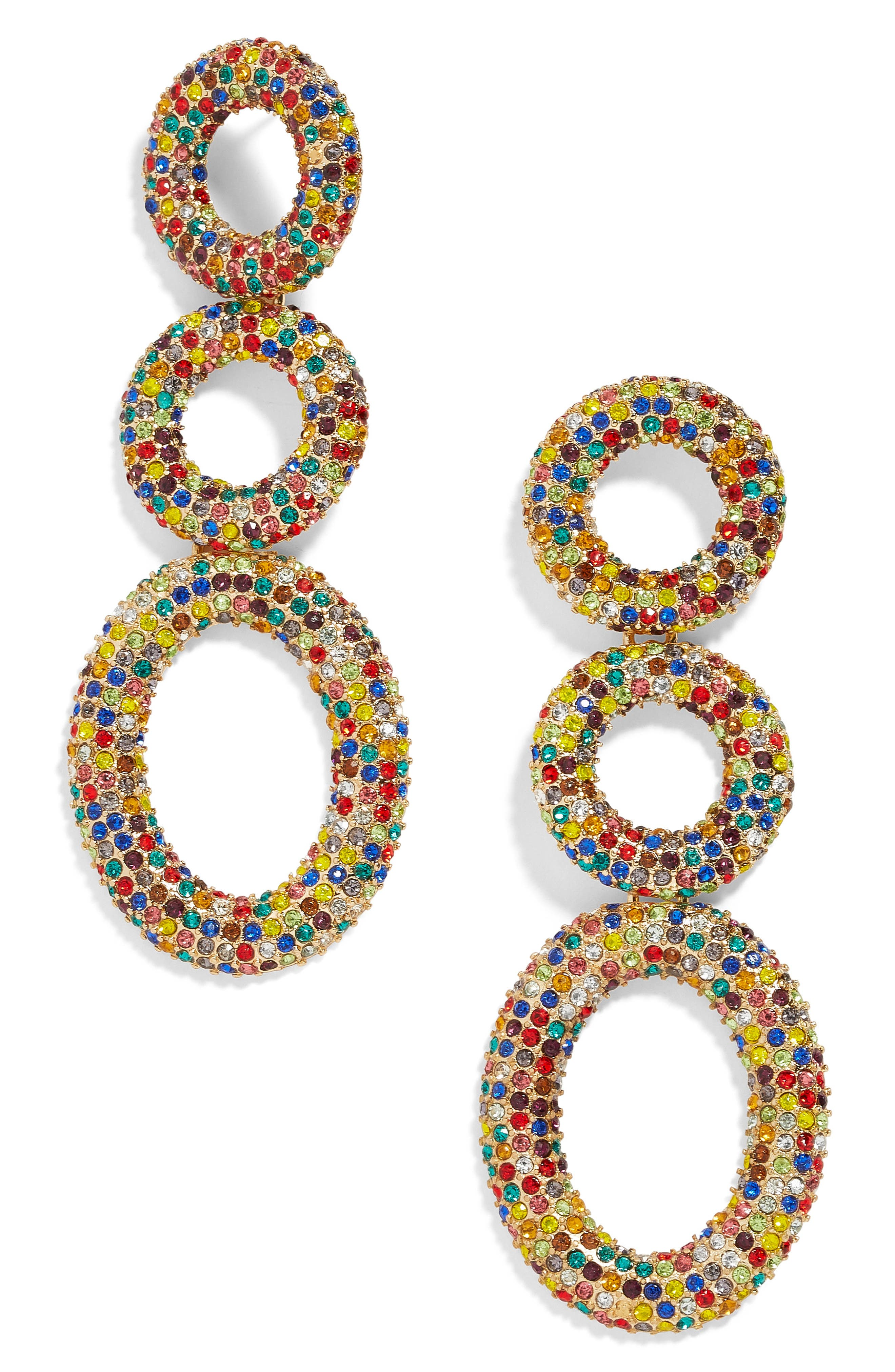 Mimi Tiered Drop Earrings,                             Main thumbnail 1, color,                             100