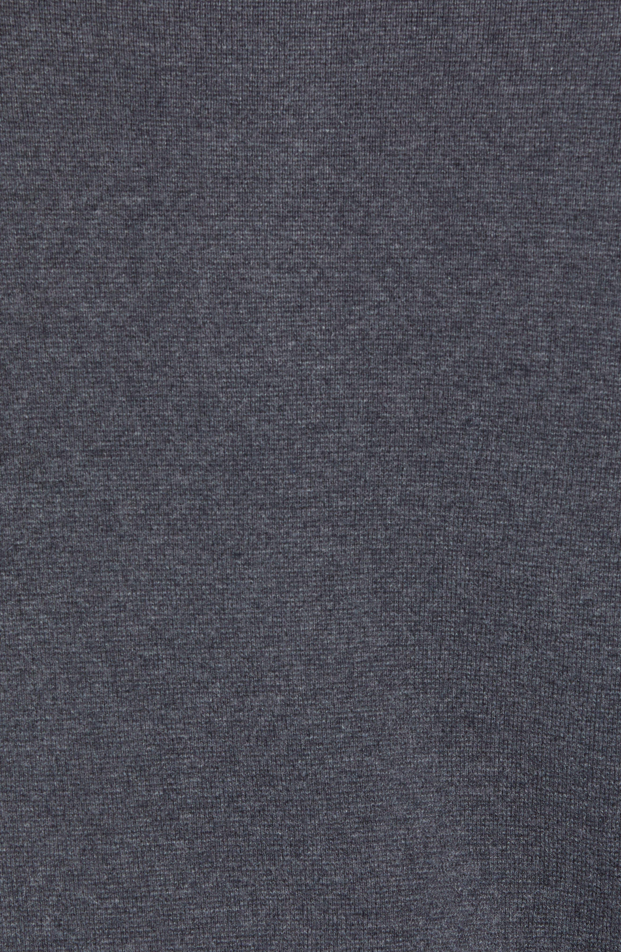 Classic Fit Skullhead Sweater,                             Alternate thumbnail 5, color,                             GREY