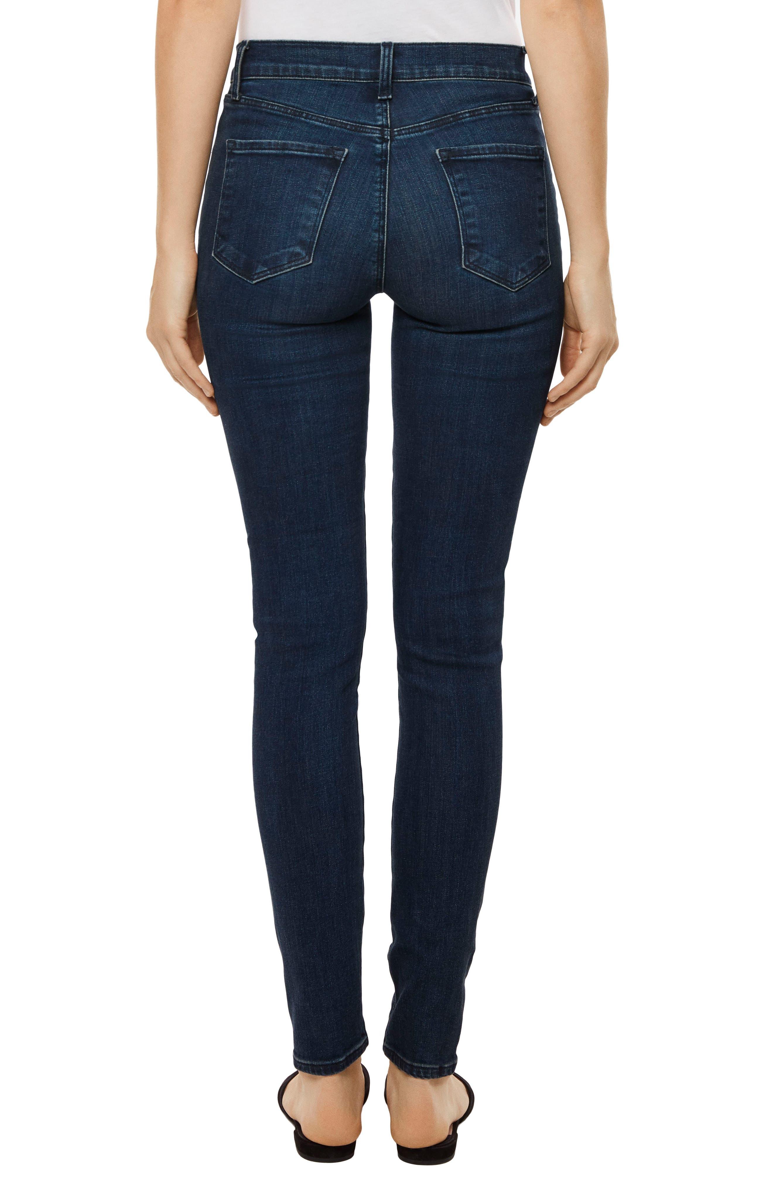 Maria High Waist Skinny Jeans,                             Alternate thumbnail 17, color,