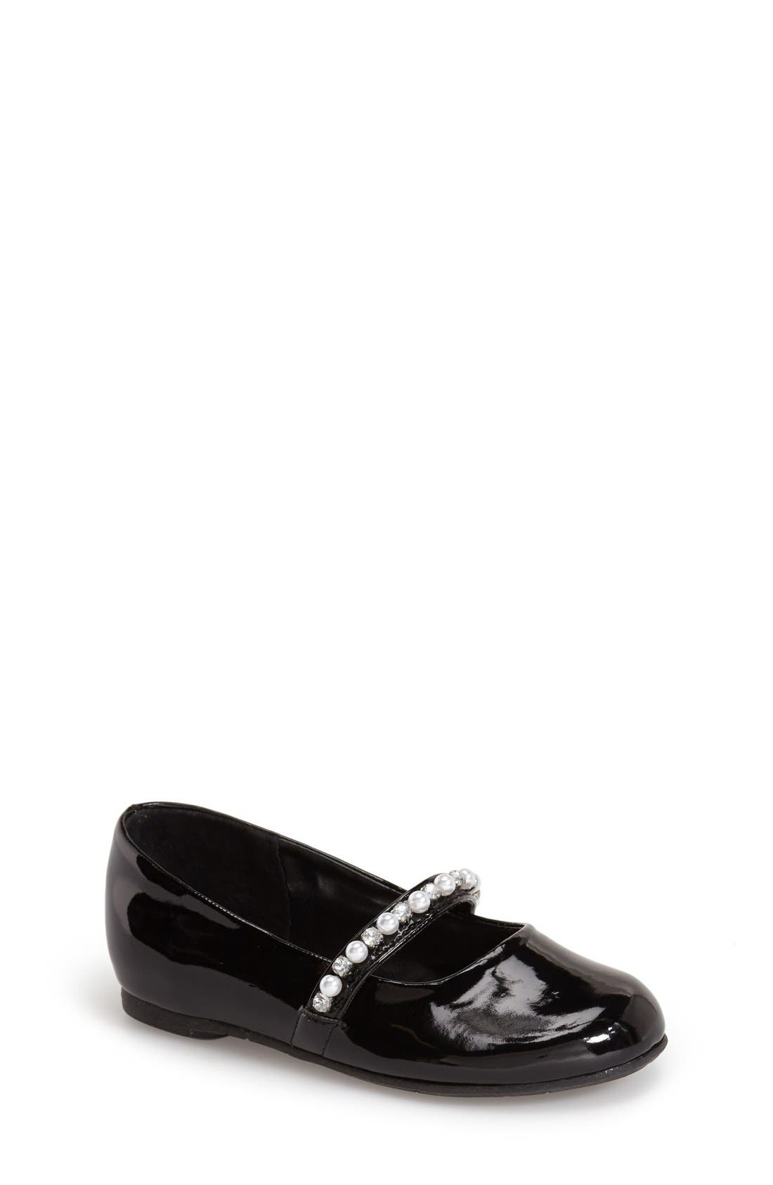'Nataly' Slip-On,                             Main thumbnail 1, color,                             BLACK PATENT