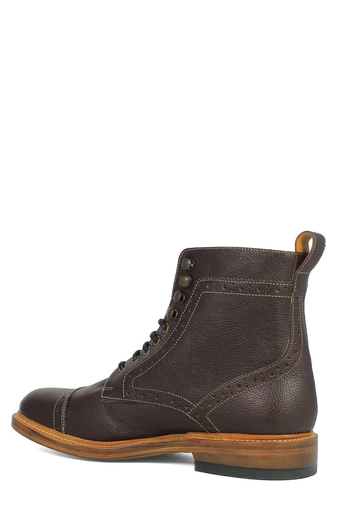 Madison II Cap Toe Boot,                             Alternate thumbnail 2, color,                             930