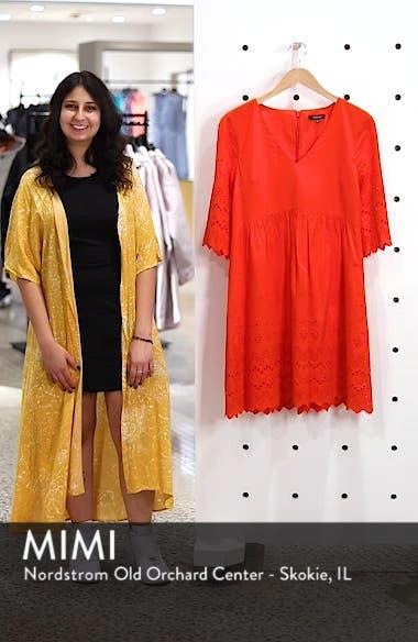 Eyelet Lattice Dress, sales video thumbnail