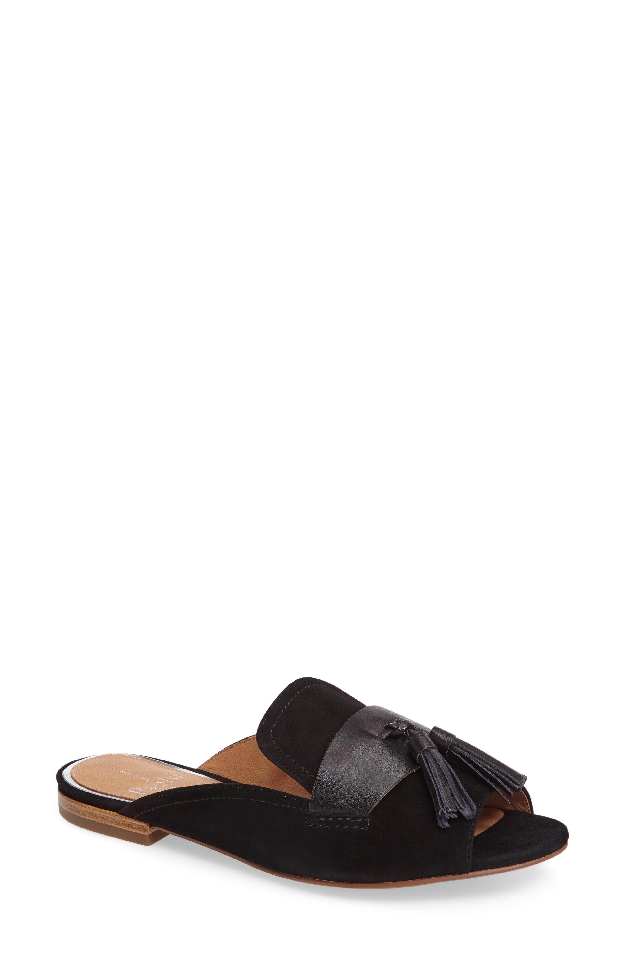 Fling Tassel Loafer Slide,                         Main,                         color, 007