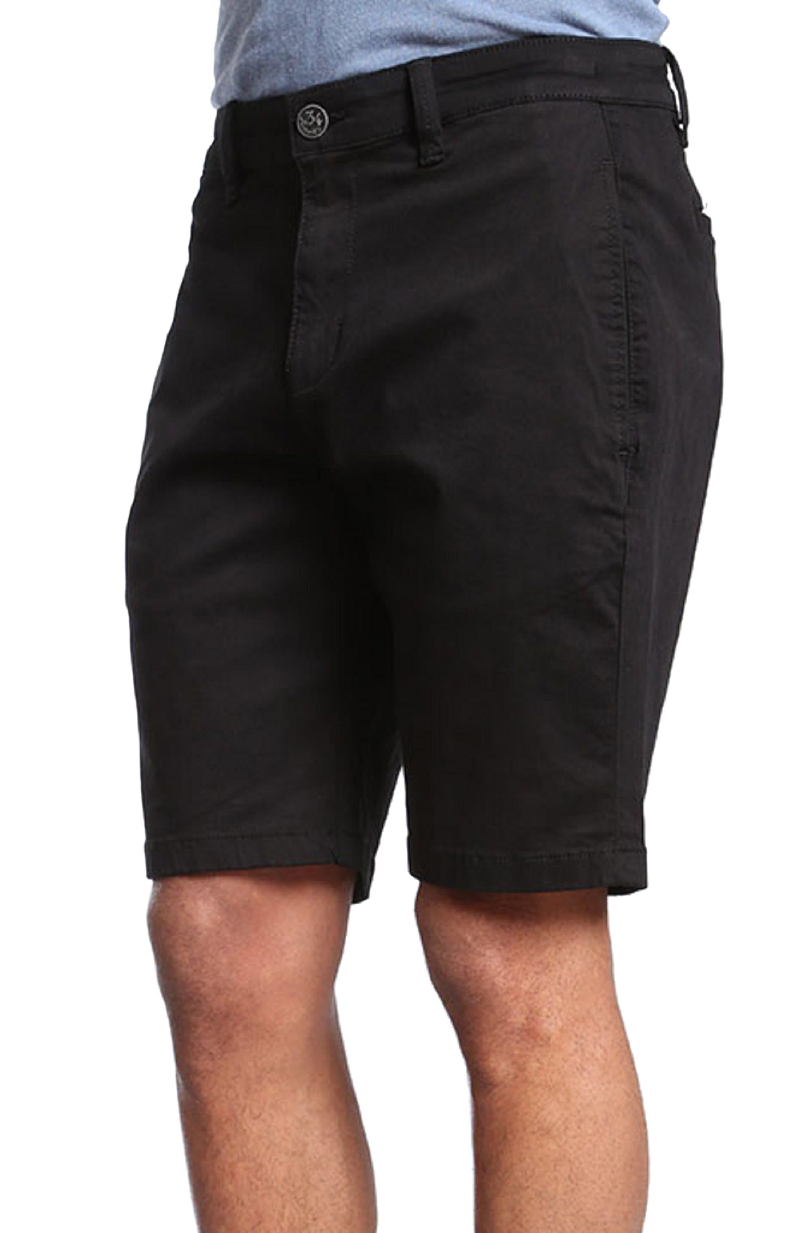 Nevada Twill Shorts,                         Main,                         color, BLACK TWILL