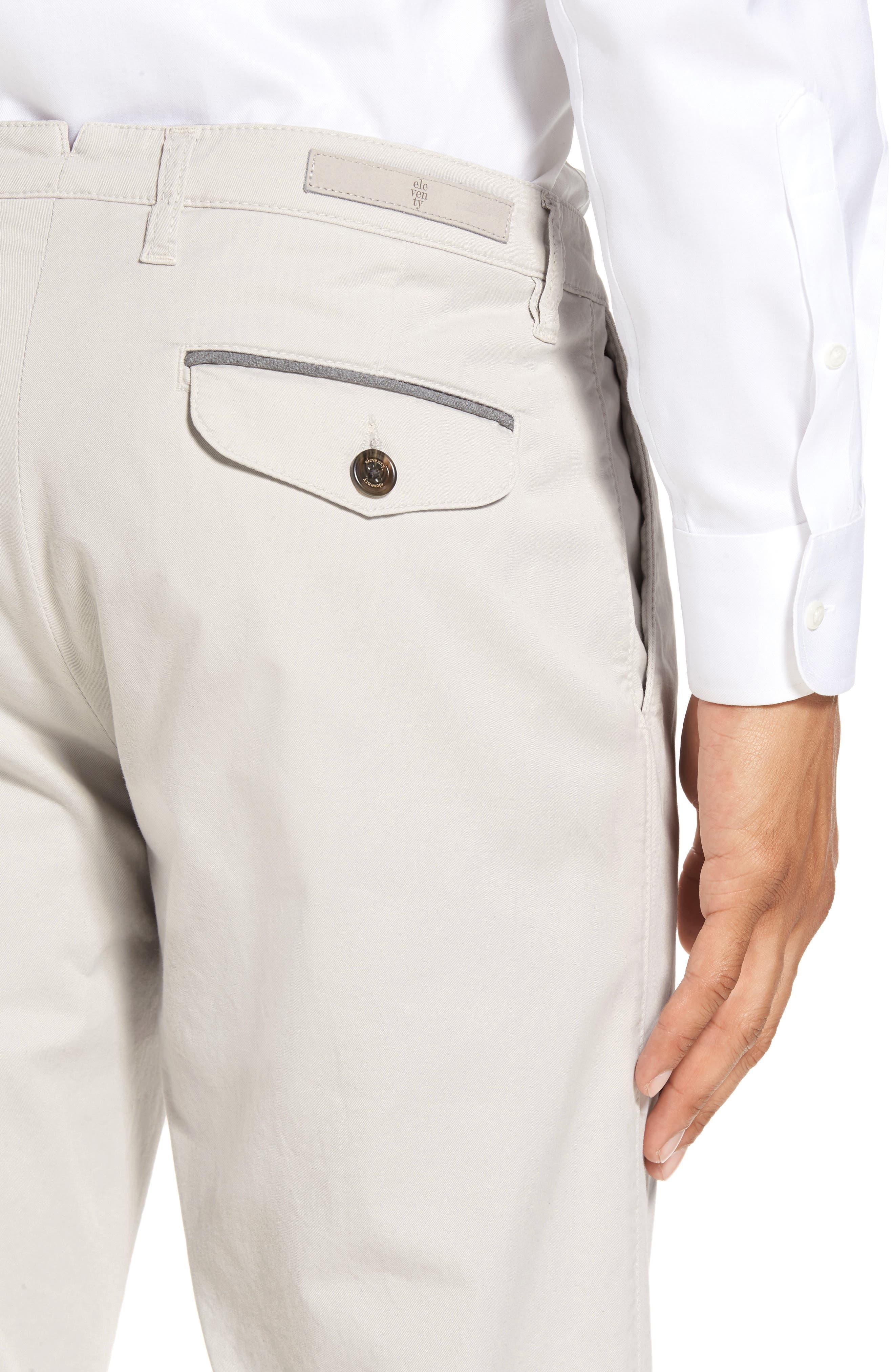 Slim Fit Chino Pants,                             Alternate thumbnail 4, color,                             SAND
