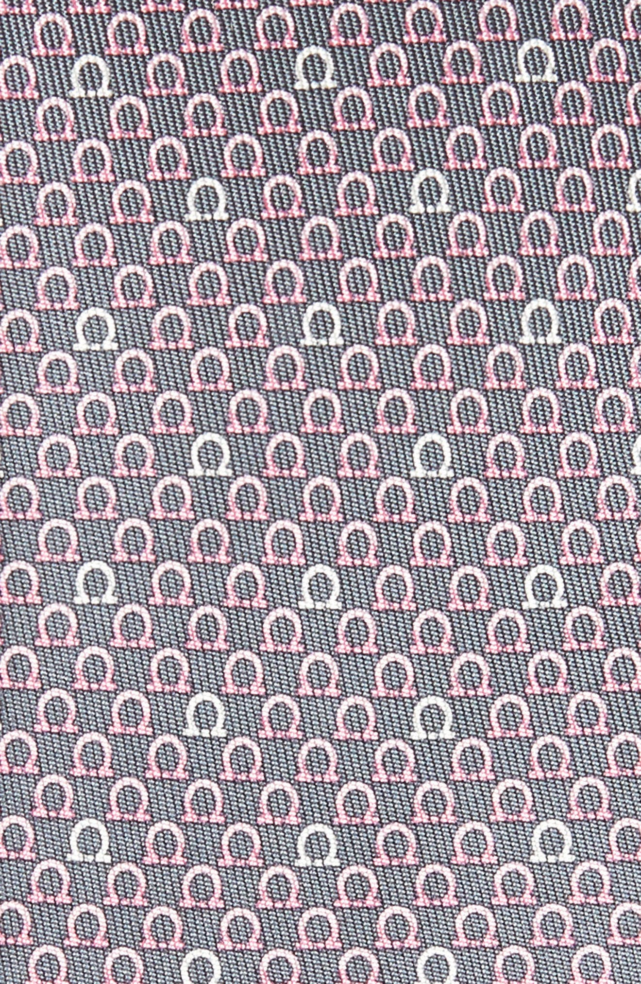 Geometric Print Silk Tie,                             Alternate thumbnail 5, color,