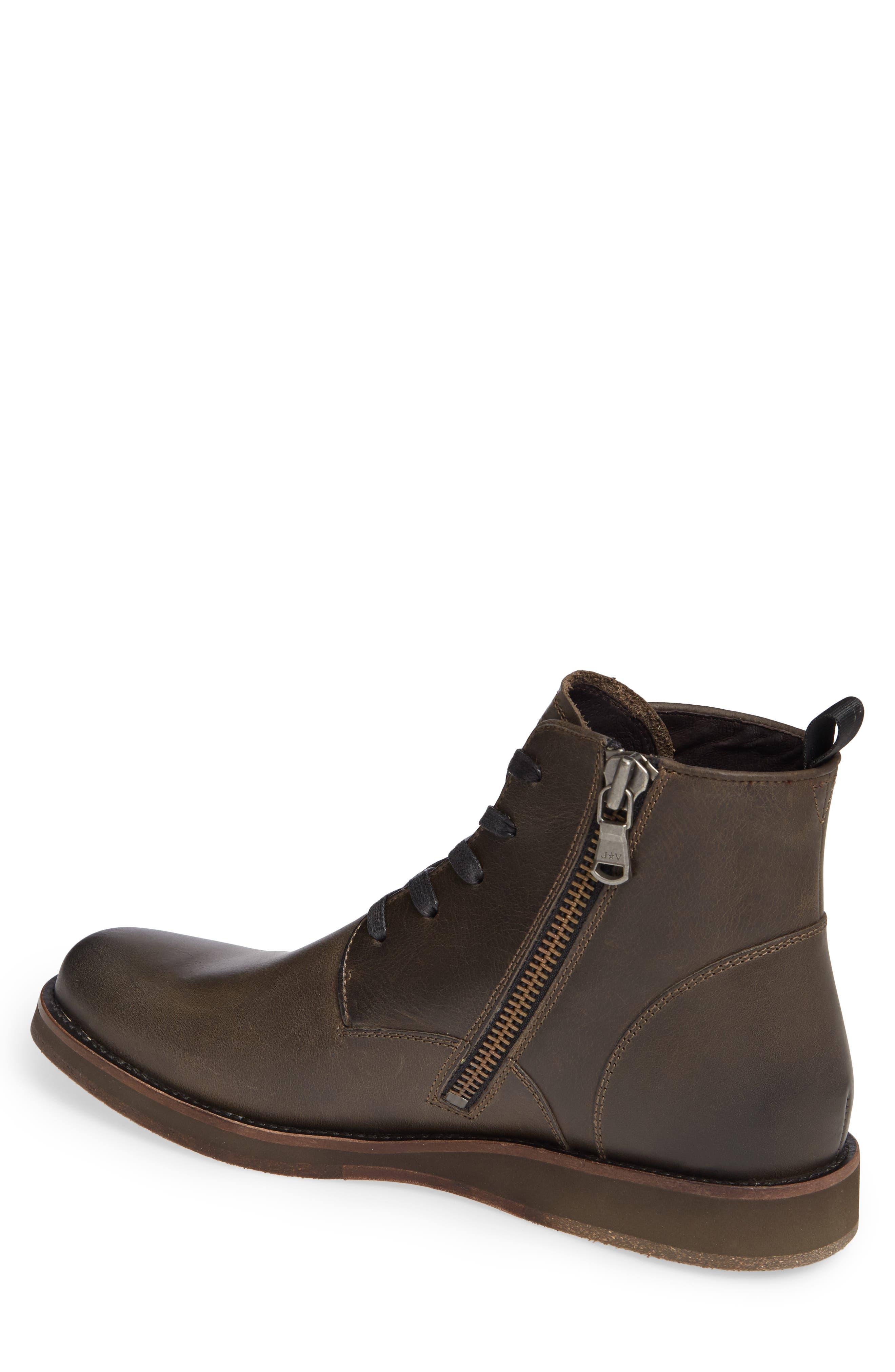 Brooklyn Plain Toe Boot,                             Alternate thumbnail 2, color,                             BLACK LEATHER