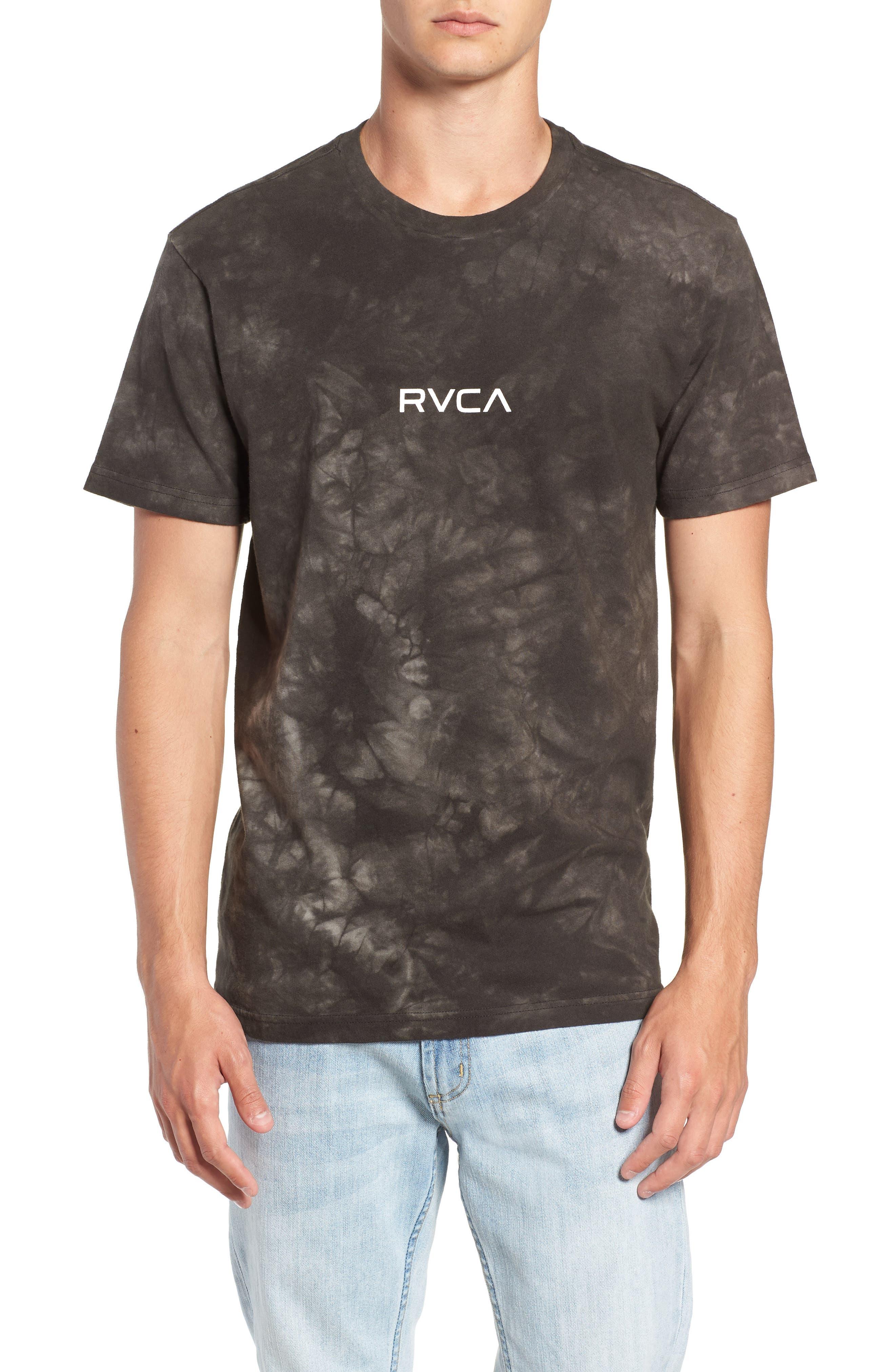 Center Graphic T-Shirt,                             Main thumbnail 1, color,                             PIRATE BLACK
