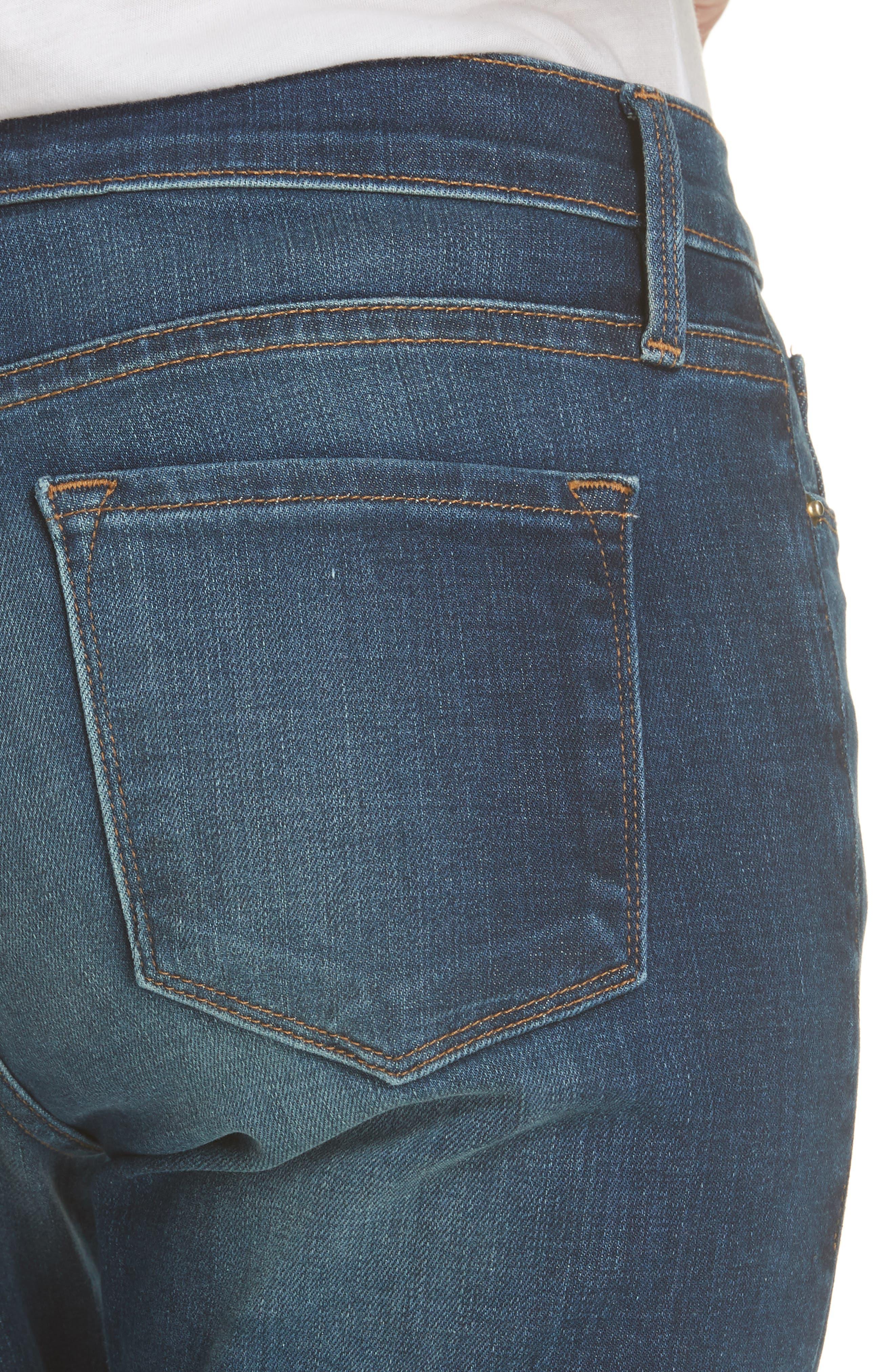 Le Garcon Slim Boyfriend Jeans,                             Alternate thumbnail 4, color,                             WESTFIELD
