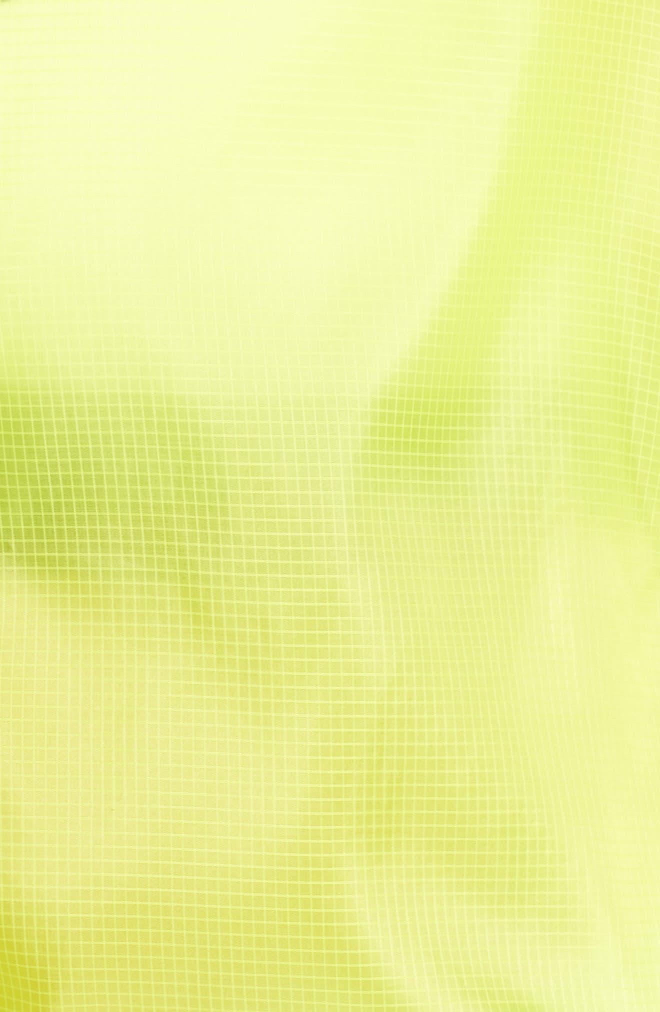NIKE,                             Sportswear Women's Woven Jacket,                             Alternate thumbnail 8, color,                             CYBER/ BLACK