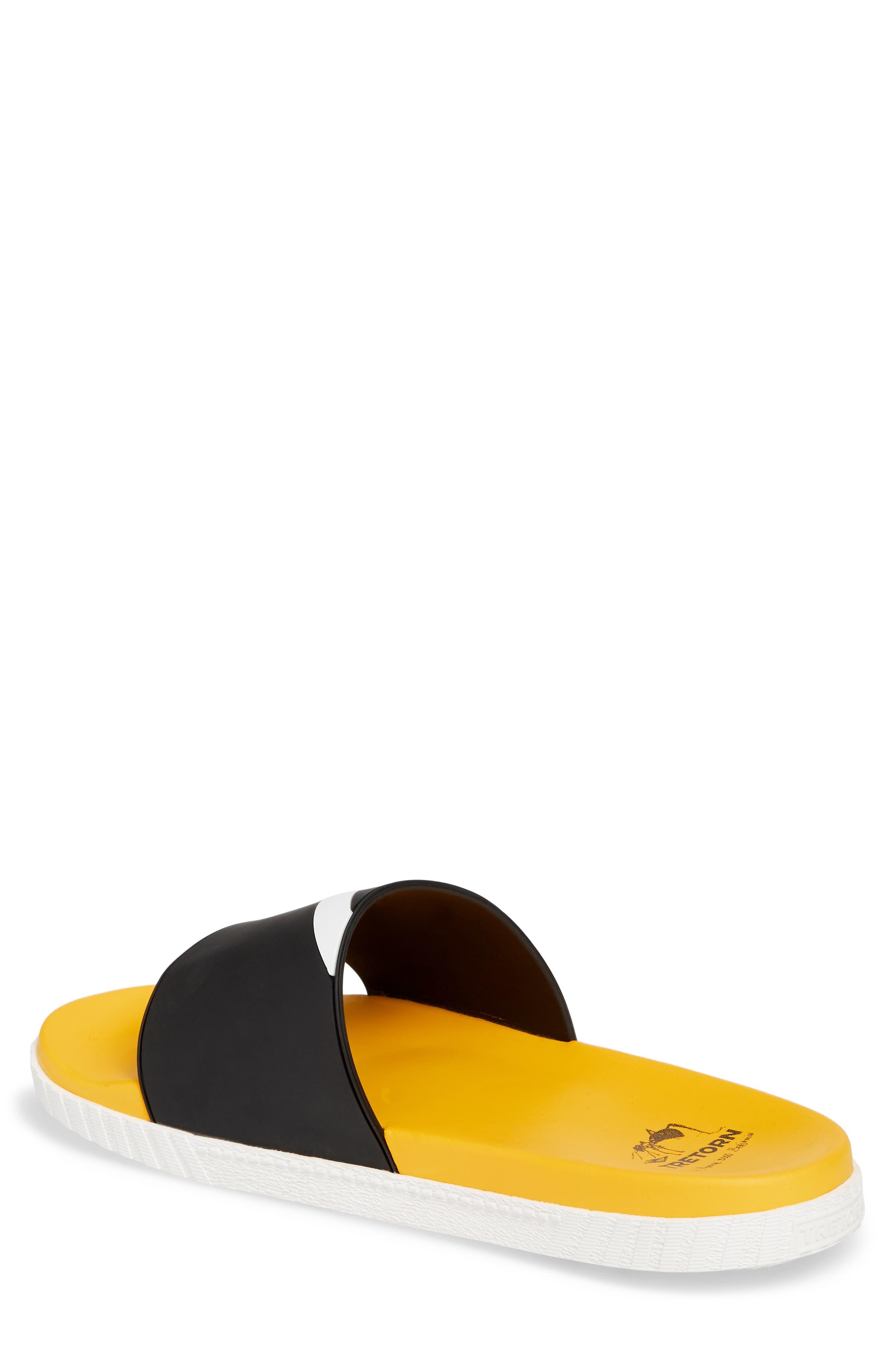 Andre 3000 Slide Sandal,                             Alternate thumbnail 2, color,                             BLACK