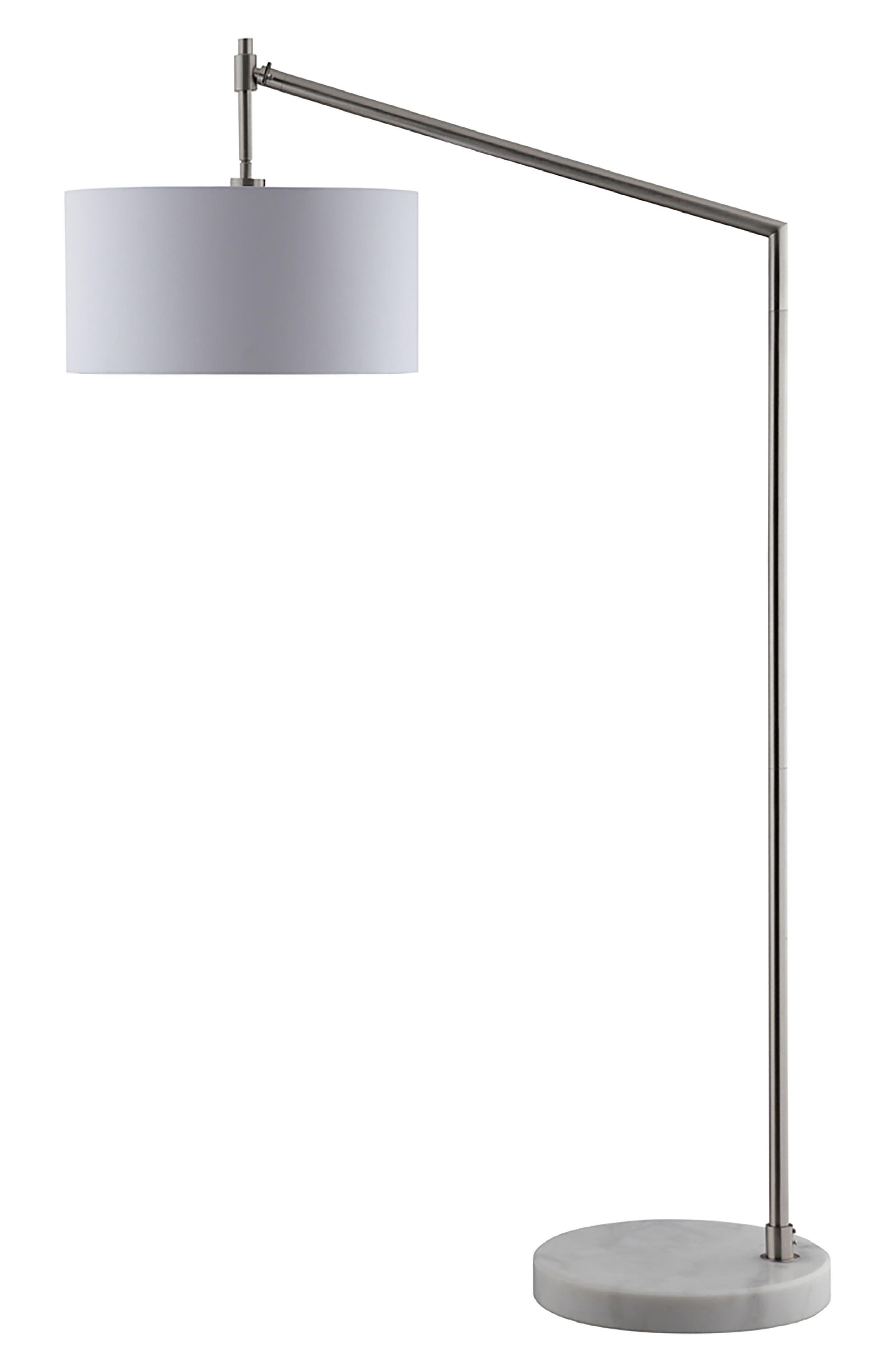 JAlexander Gavin Floor Lamp,                             Main thumbnail 1, color,                             WHITE