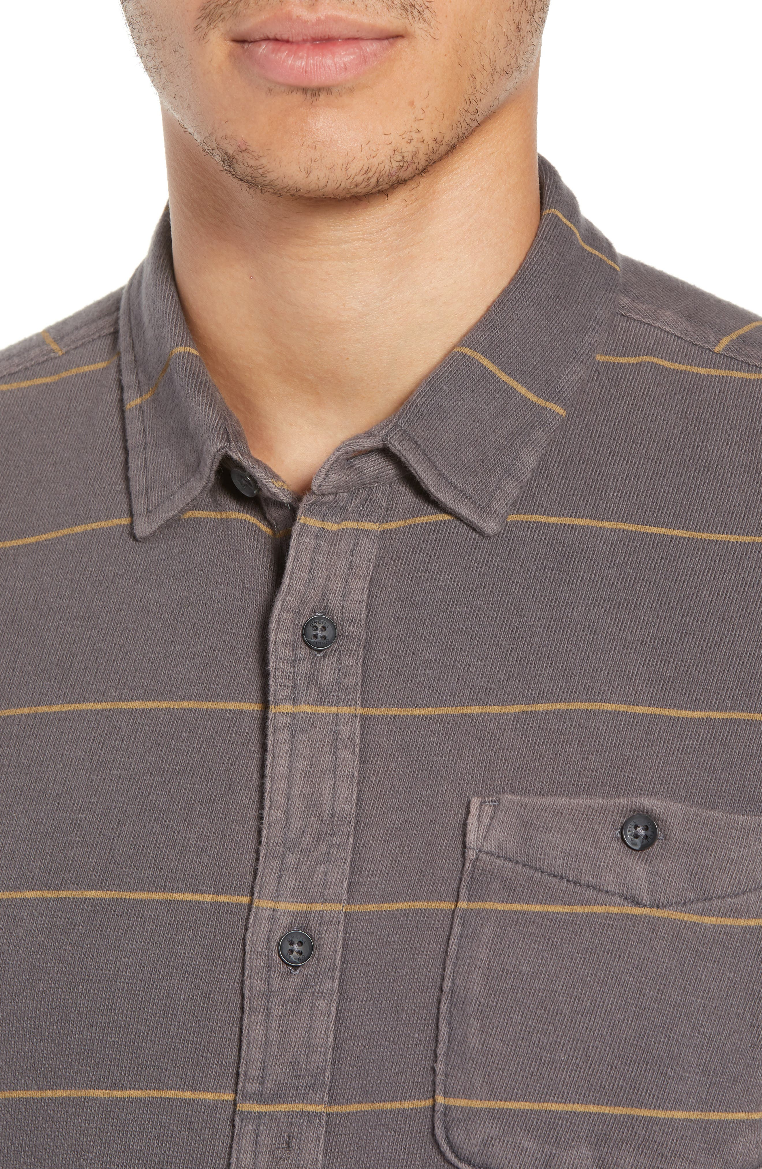Cowell Knit Button-Up Shirt,                             Alternate thumbnail 2, color,                             020