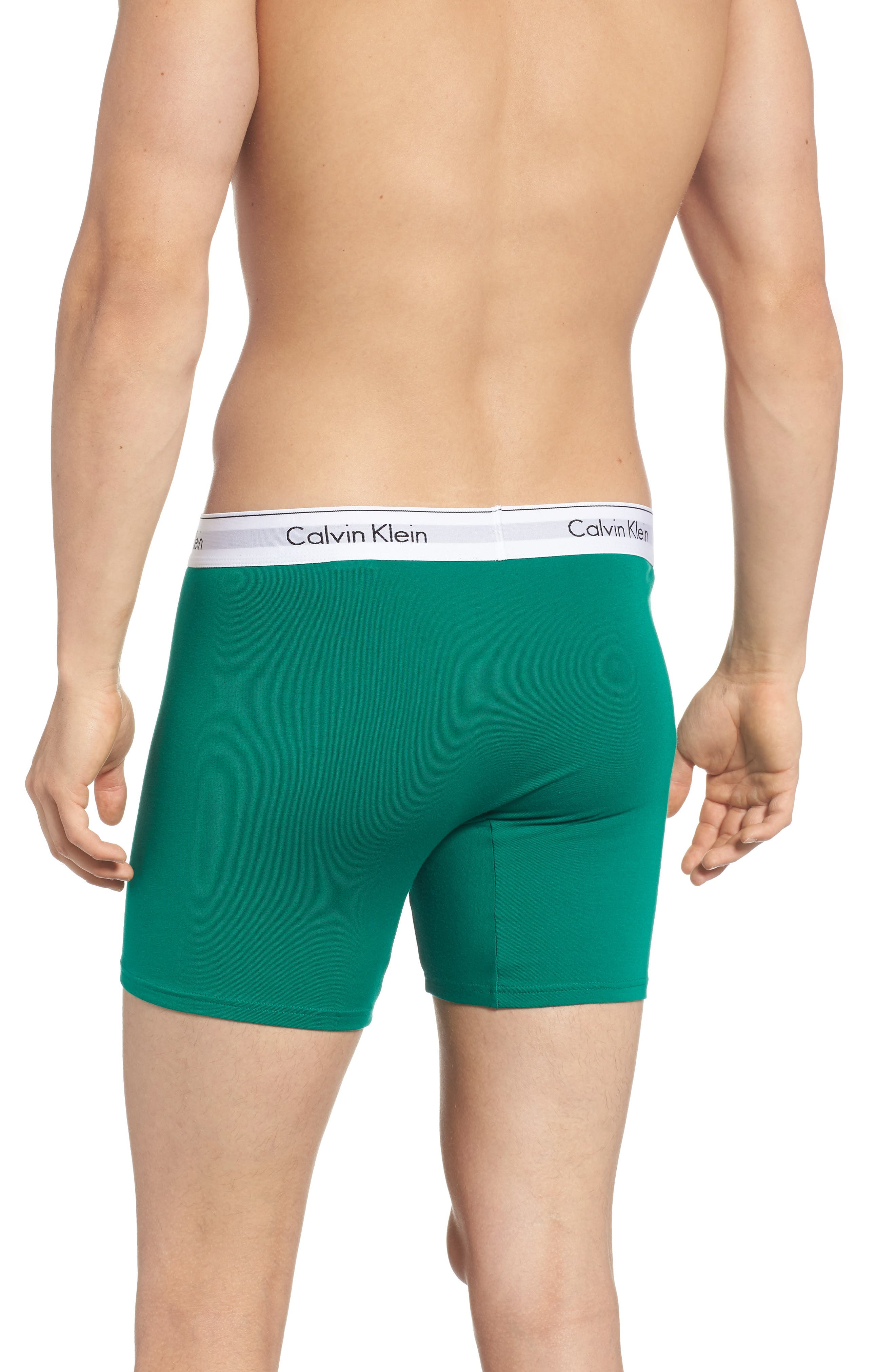 Modern Assorted 2-Pack Stretch Cotton Boxer Briefs,                             Alternate thumbnail 3, color,                             311