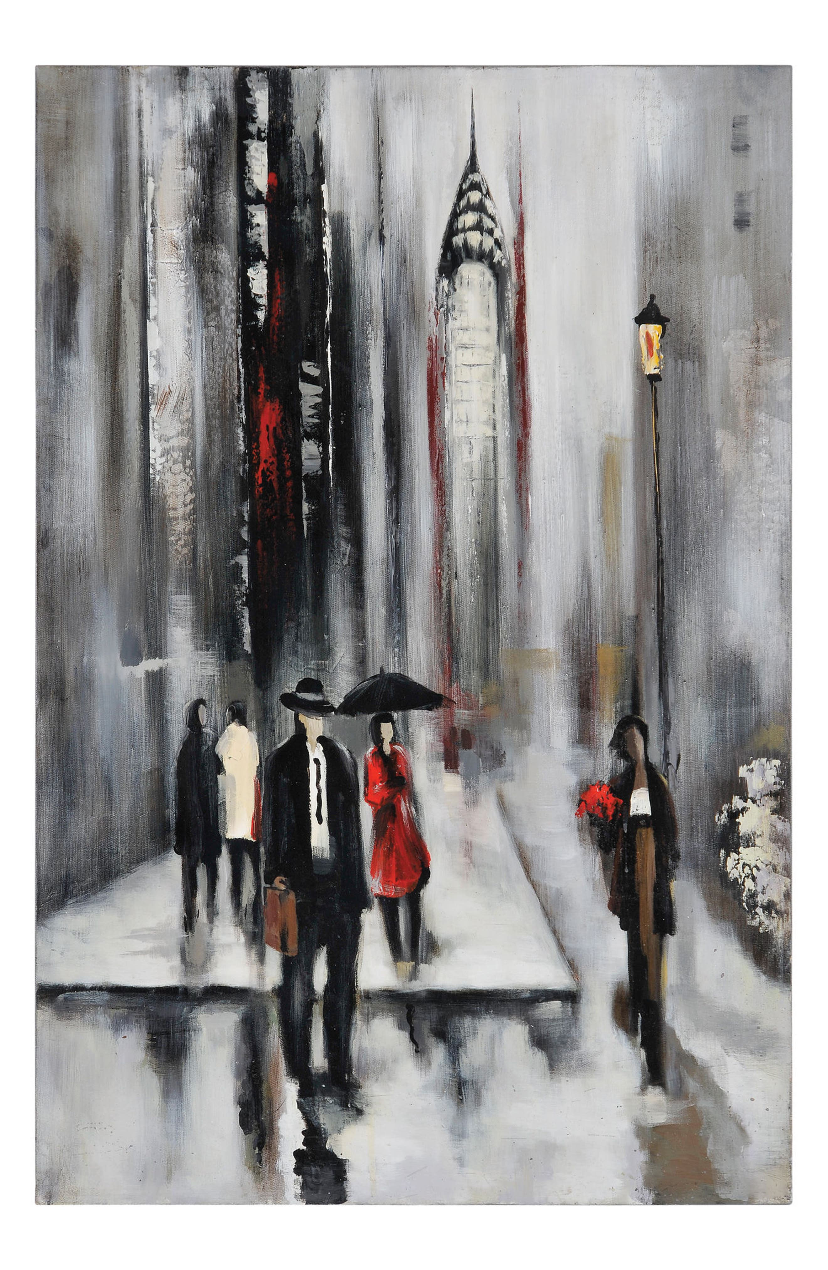 Bustling City II Canvas Art,                             Main thumbnail 1, color,                             020