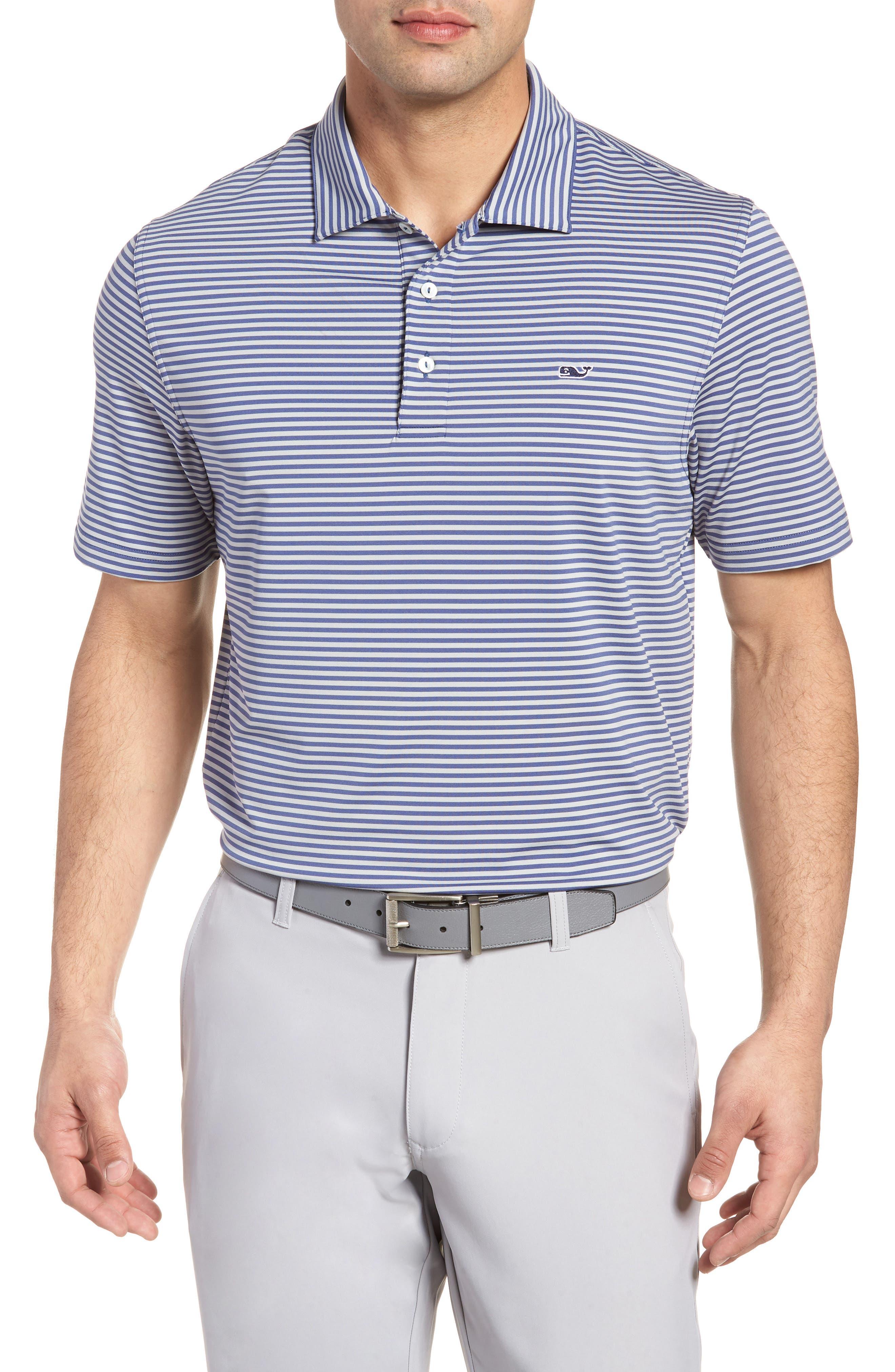 Kennedy Stripe Golf Polo,                             Main thumbnail 2, color,