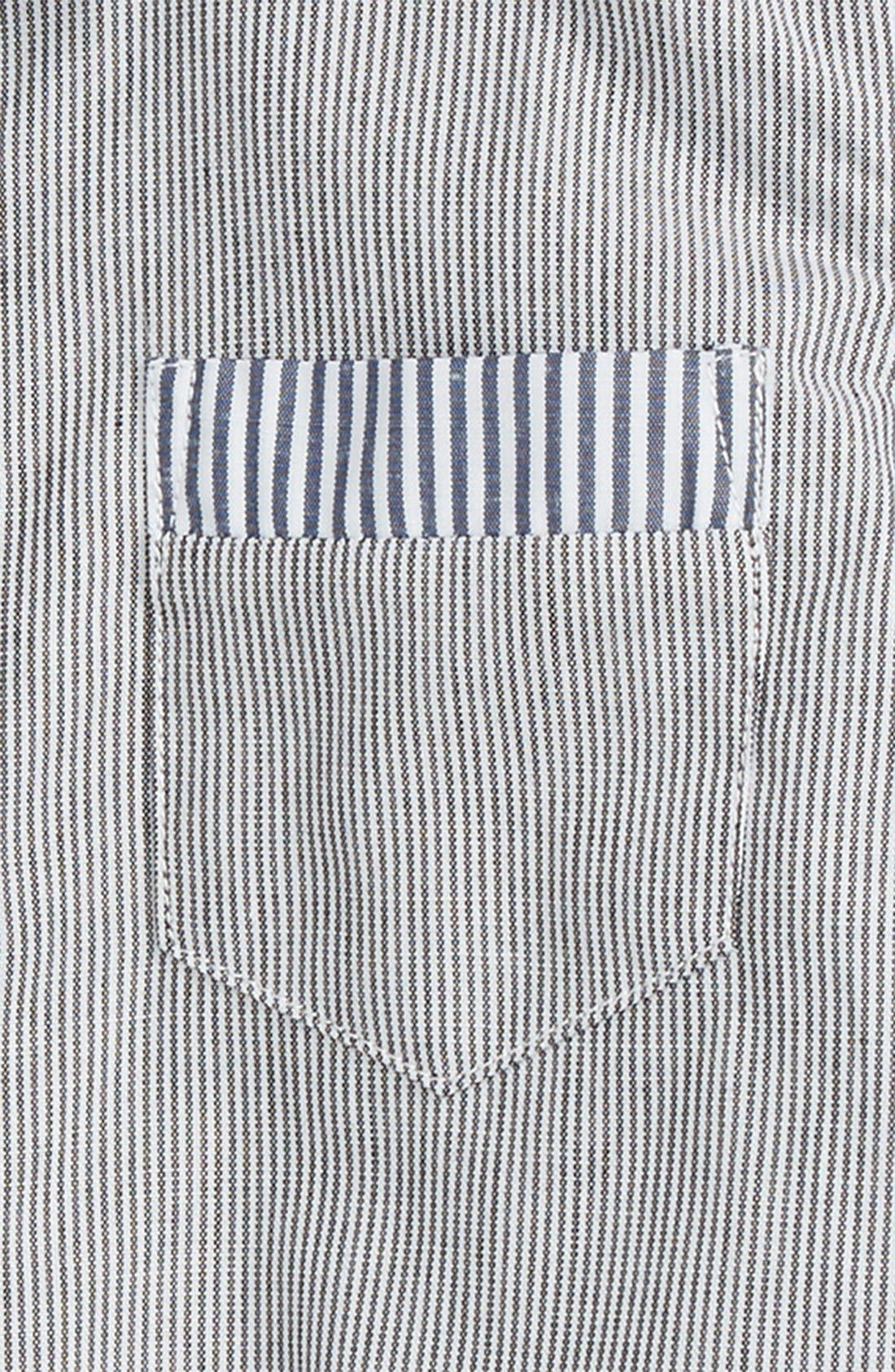 Dress Shirt Bodysuit,                             Alternate thumbnail 3, color,                             140