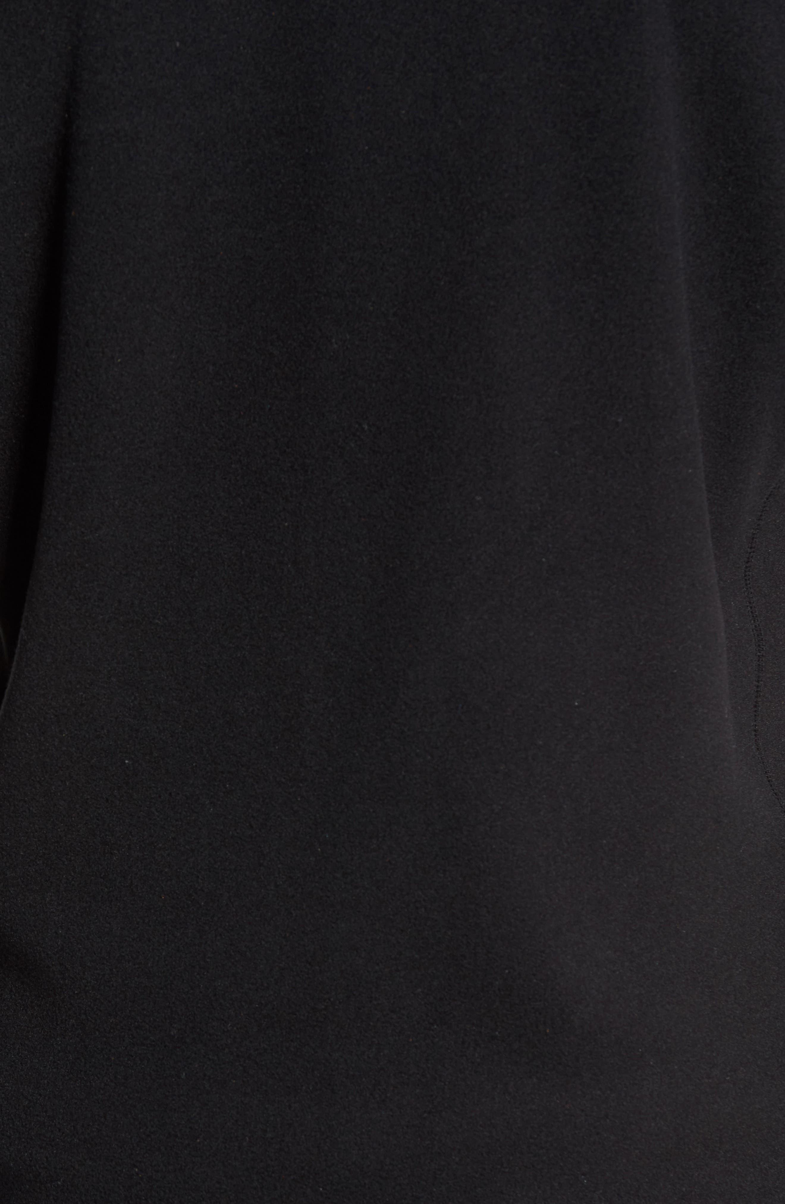 Micro D<sup>®</sup> Fleece Jacket,                             Alternate thumbnail 6, color,                             001