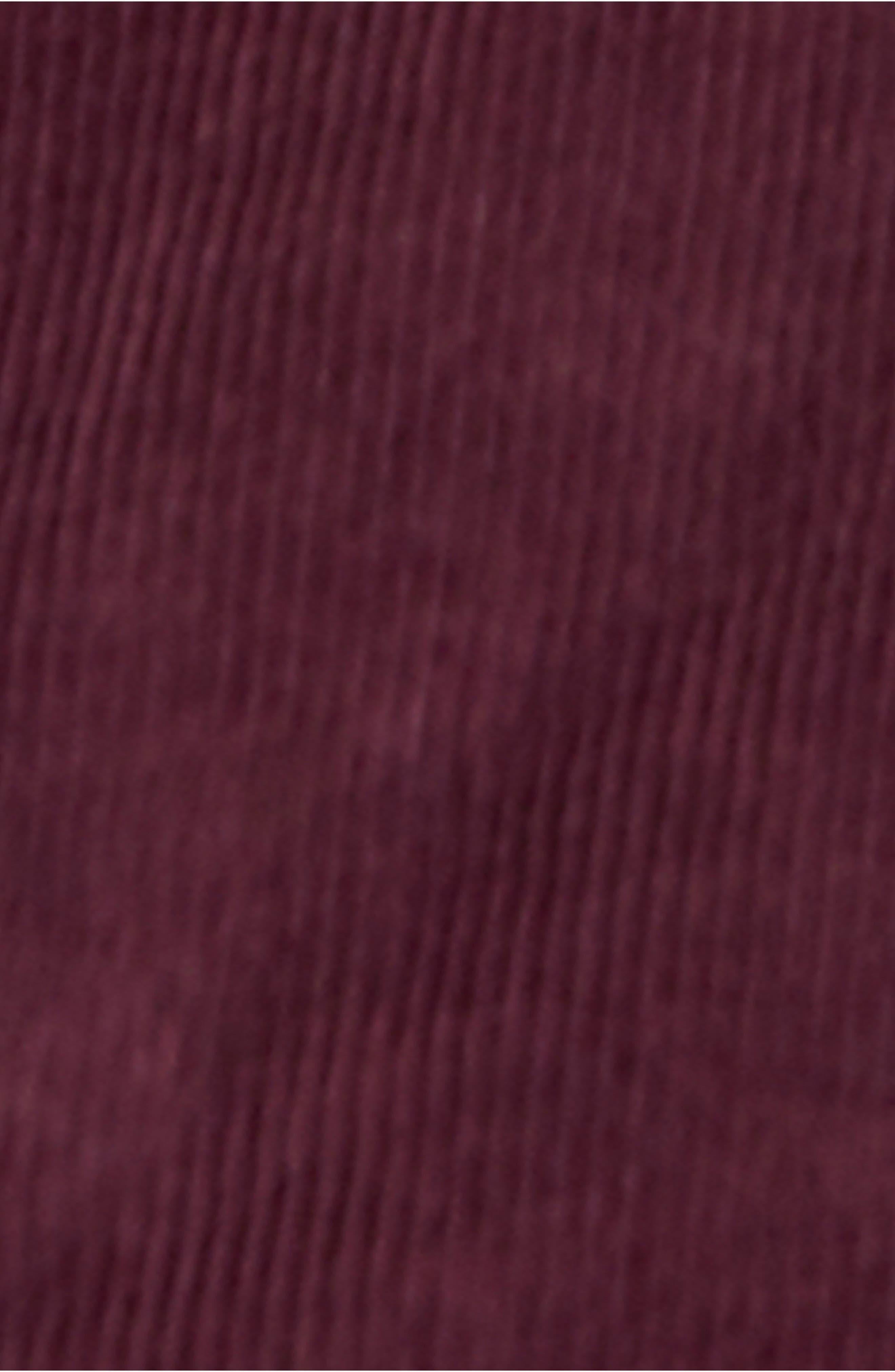 Slim Ankle Corduroy Overalls,                             Alternate thumbnail 5, color,                             210