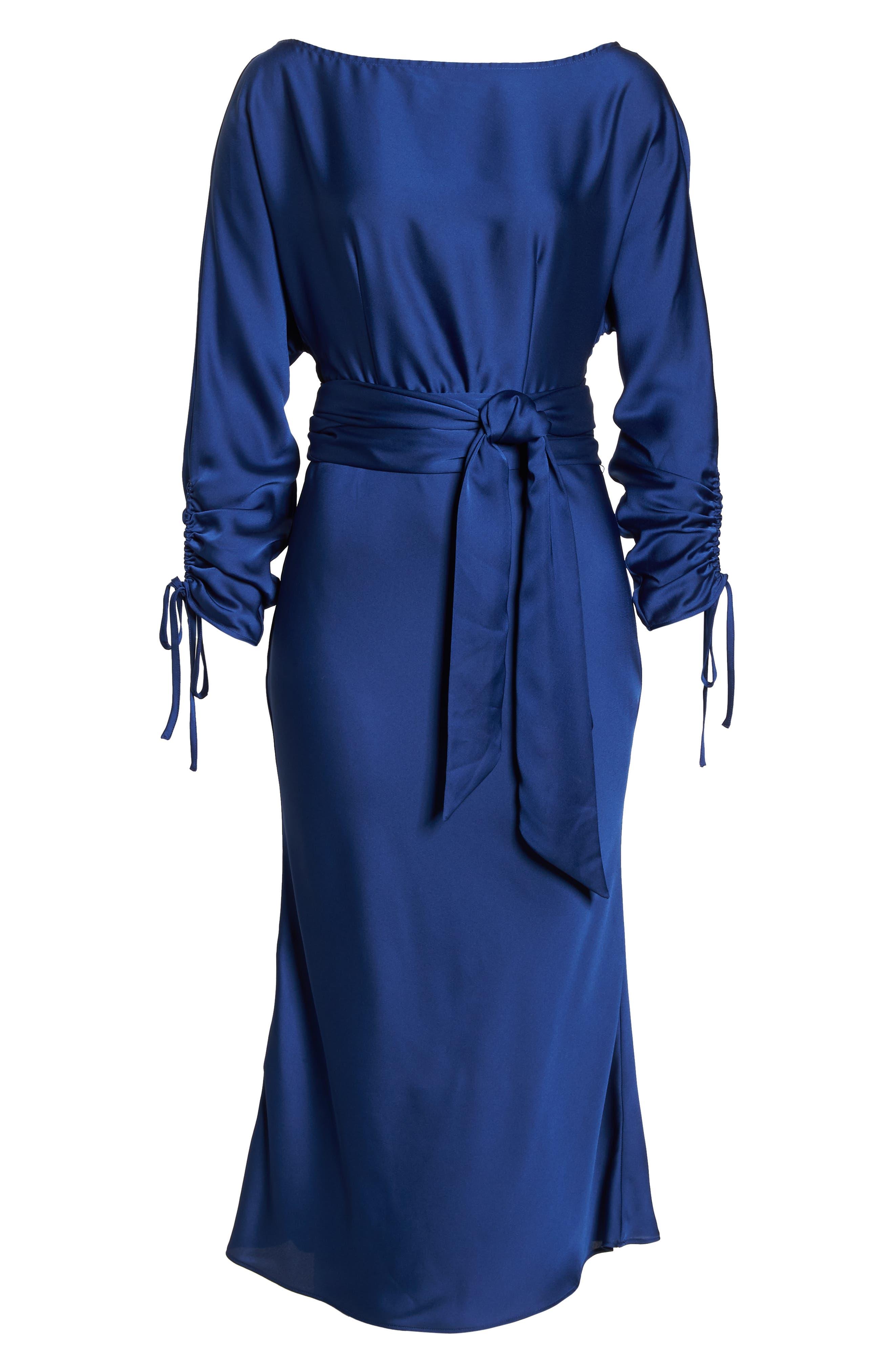 KEEPSAKE THE LABEL,                             Uncovered Midi Dress,                             Alternate thumbnail 7, color,                             430
