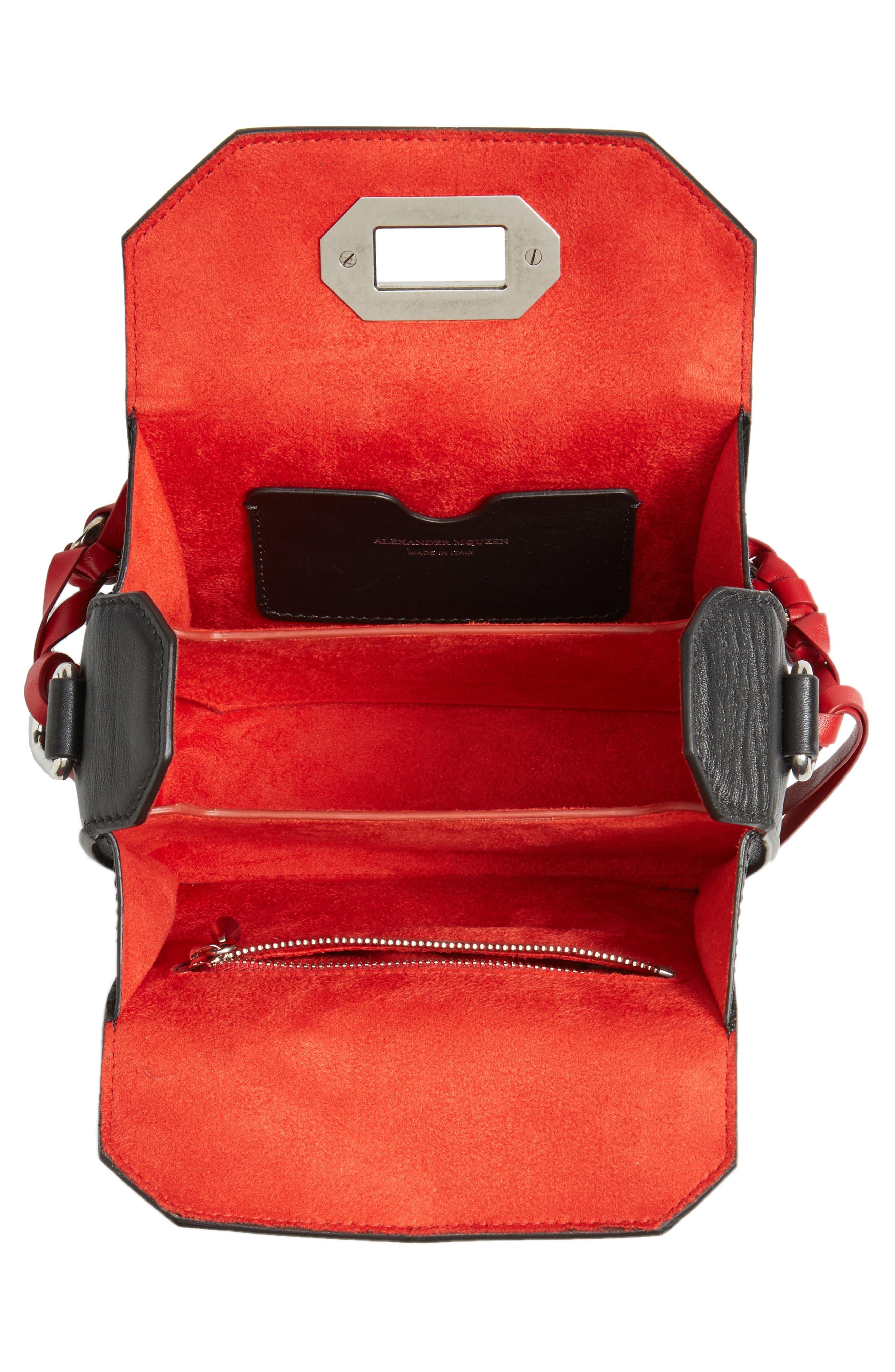 Box Bag 16 Matte Calfskin Bag,                             Alternate thumbnail 4, color,                             627