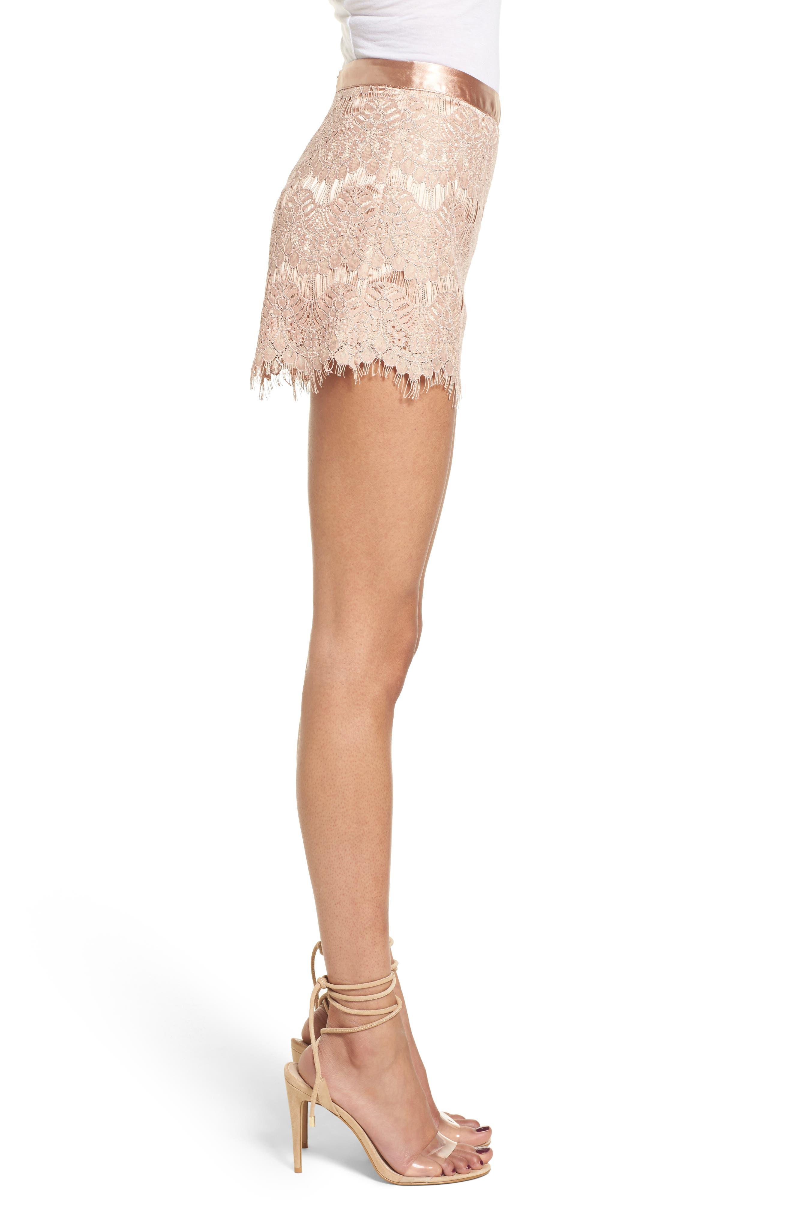 Lace Shorts,                             Alternate thumbnail 3, color,                             680