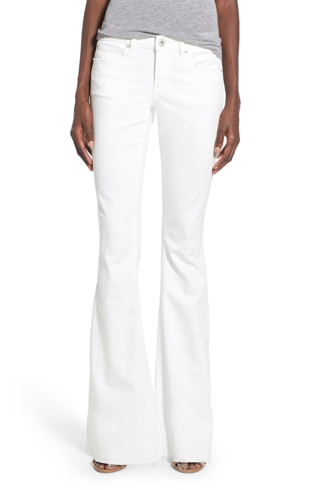 ARTICLES OF SOCIETY 'Faith' Flare Jeans, Main, color, 120