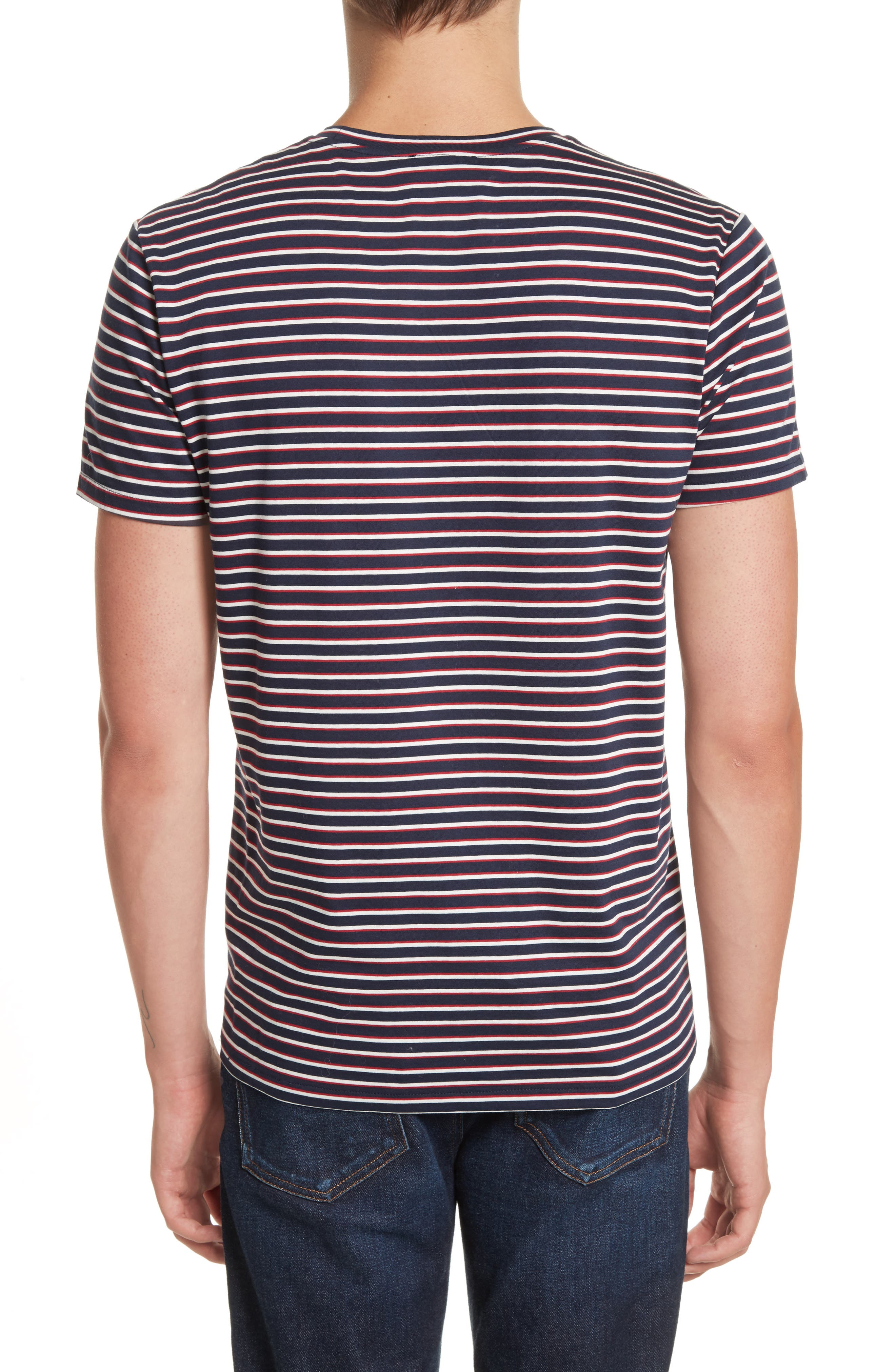 Elliot Stripe T-Shirt,                             Alternate thumbnail 2, color,                             420