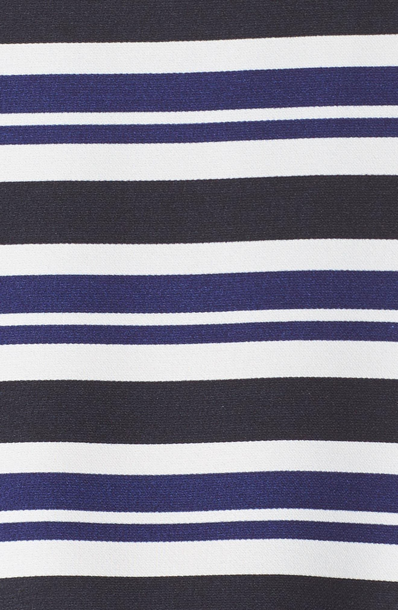 Stripe Mixed Media Top,                             Alternate thumbnail 6, color,                             411