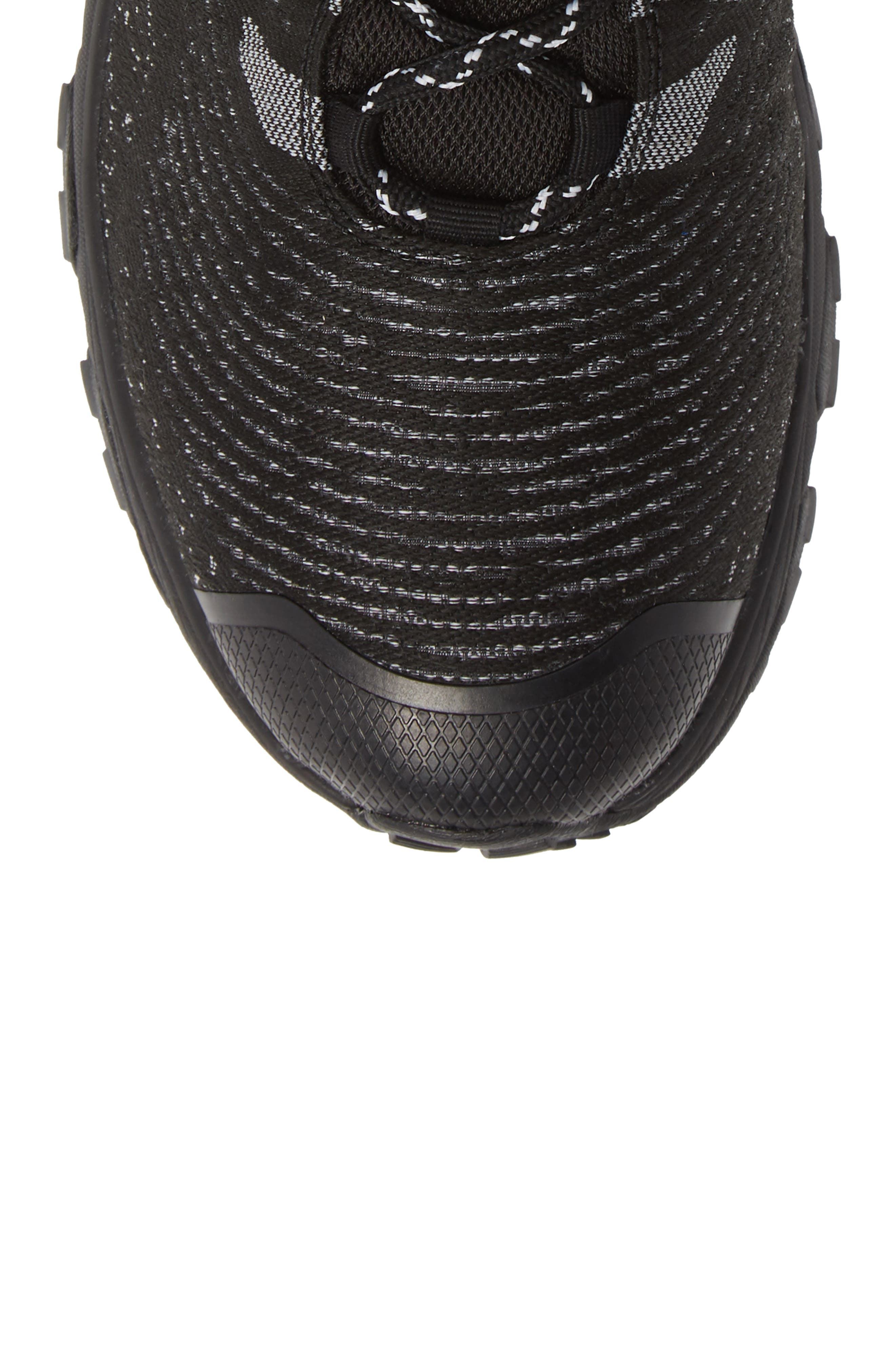 Ultra Fastpack III Mid Top Gore-Tex<sup>®</sup> Hiking Boot,                             Alternate thumbnail 5, color,                             BLACK/ WHITE