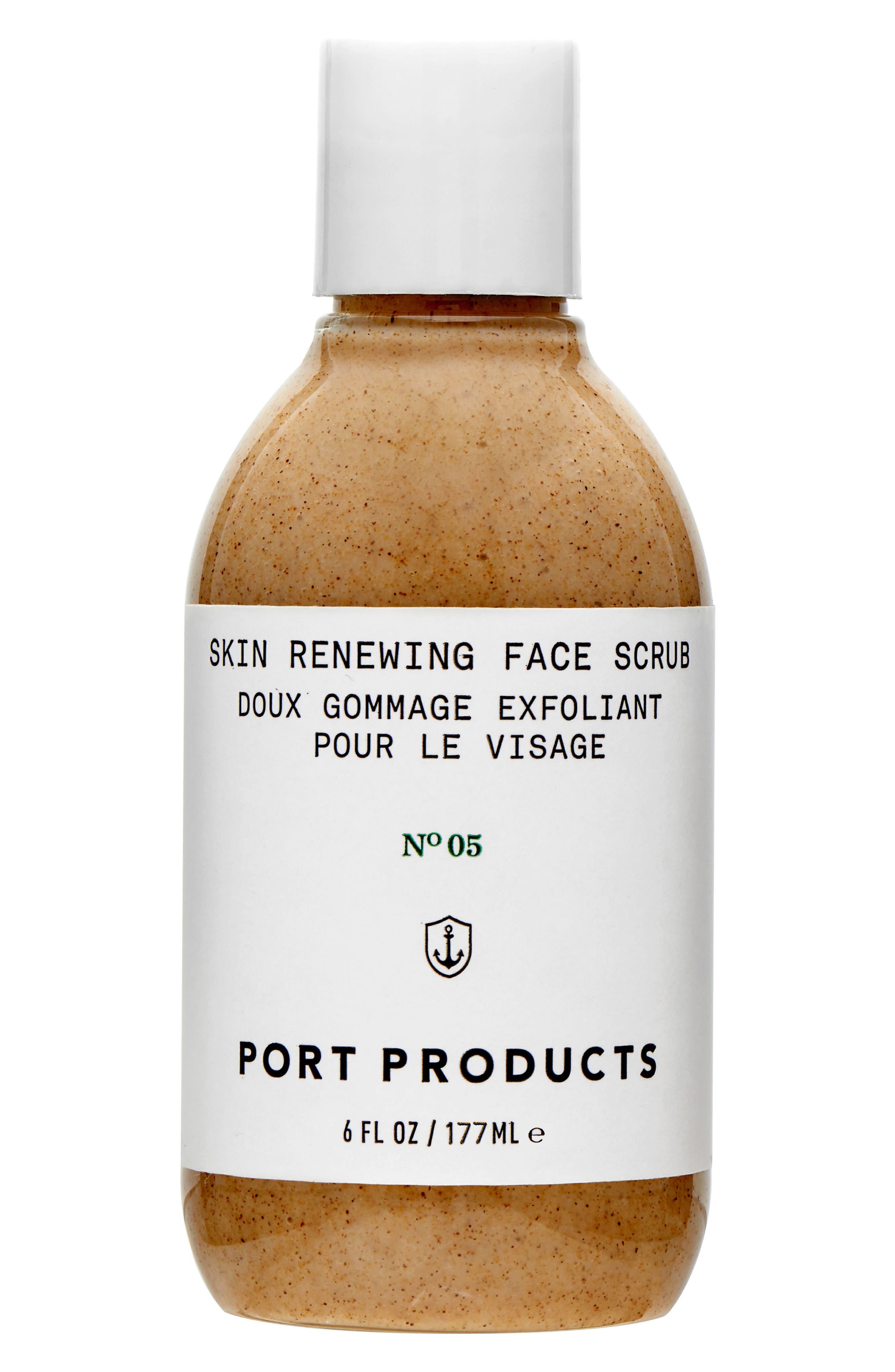 Skin Renewing Face Scrub,                             Main thumbnail 1, color,                             000