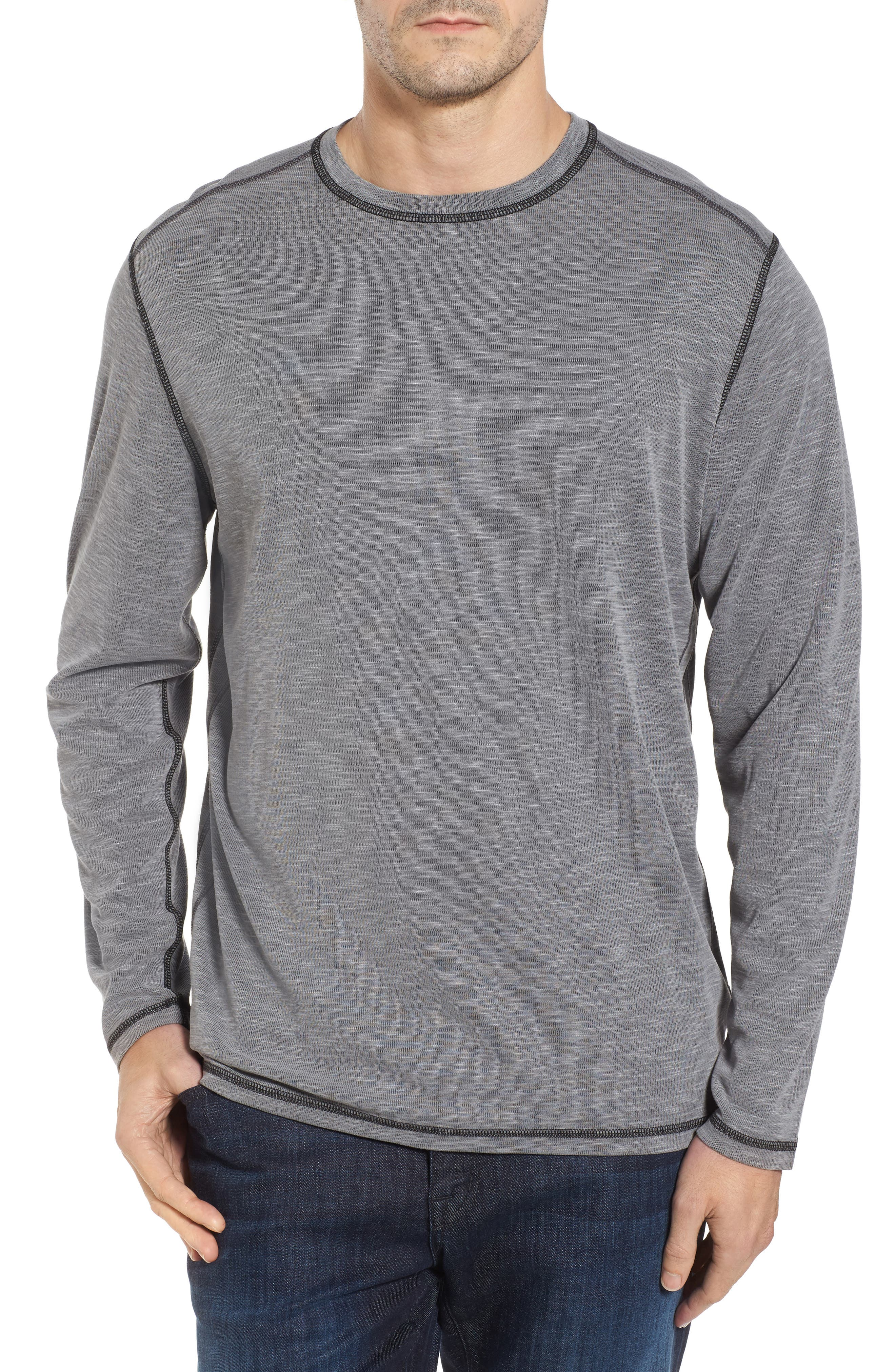 Flip Tide Long Sleeve T-Shirt,                             Main thumbnail 1, color,                             001