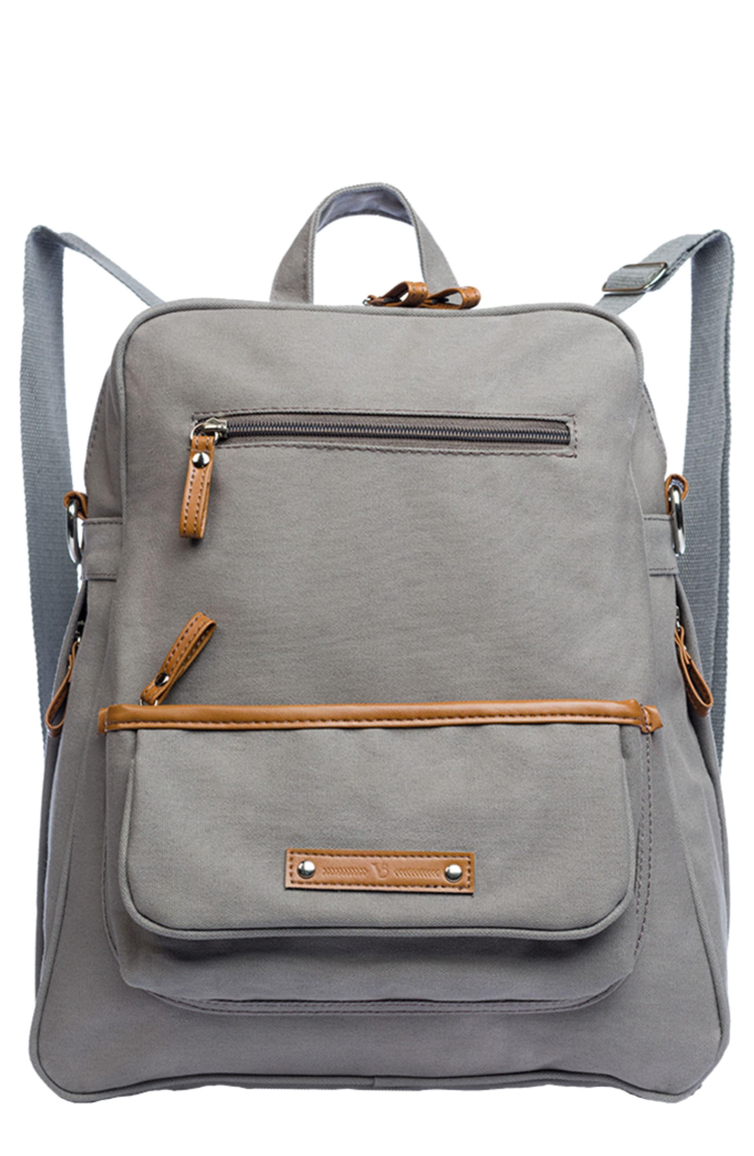 Infant Vilah Bloom MonroeOnTheGo Diaper Backpack  Grey