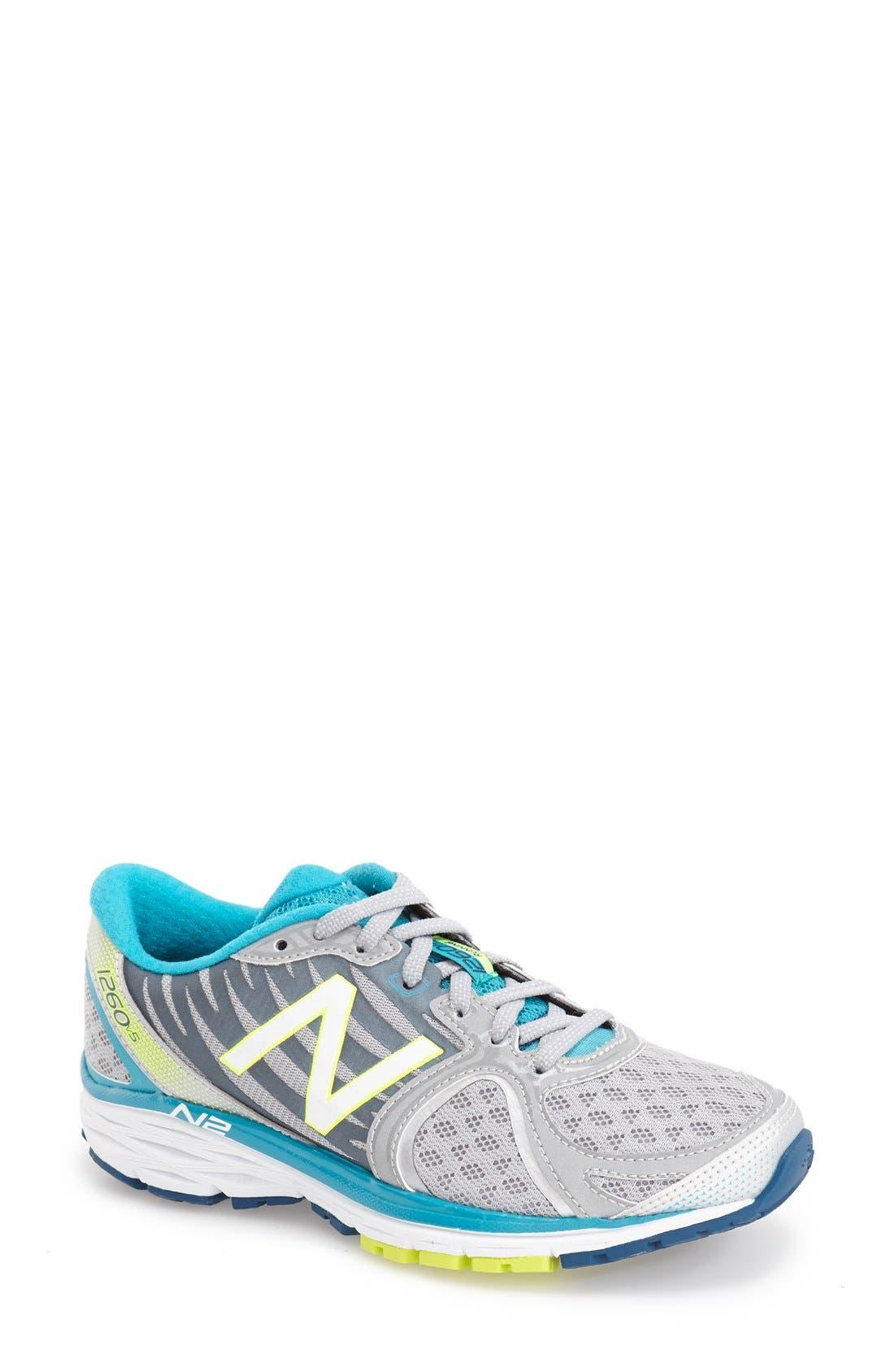 1260 v5' Running Shoe,                             Main thumbnail 1, color,                             041