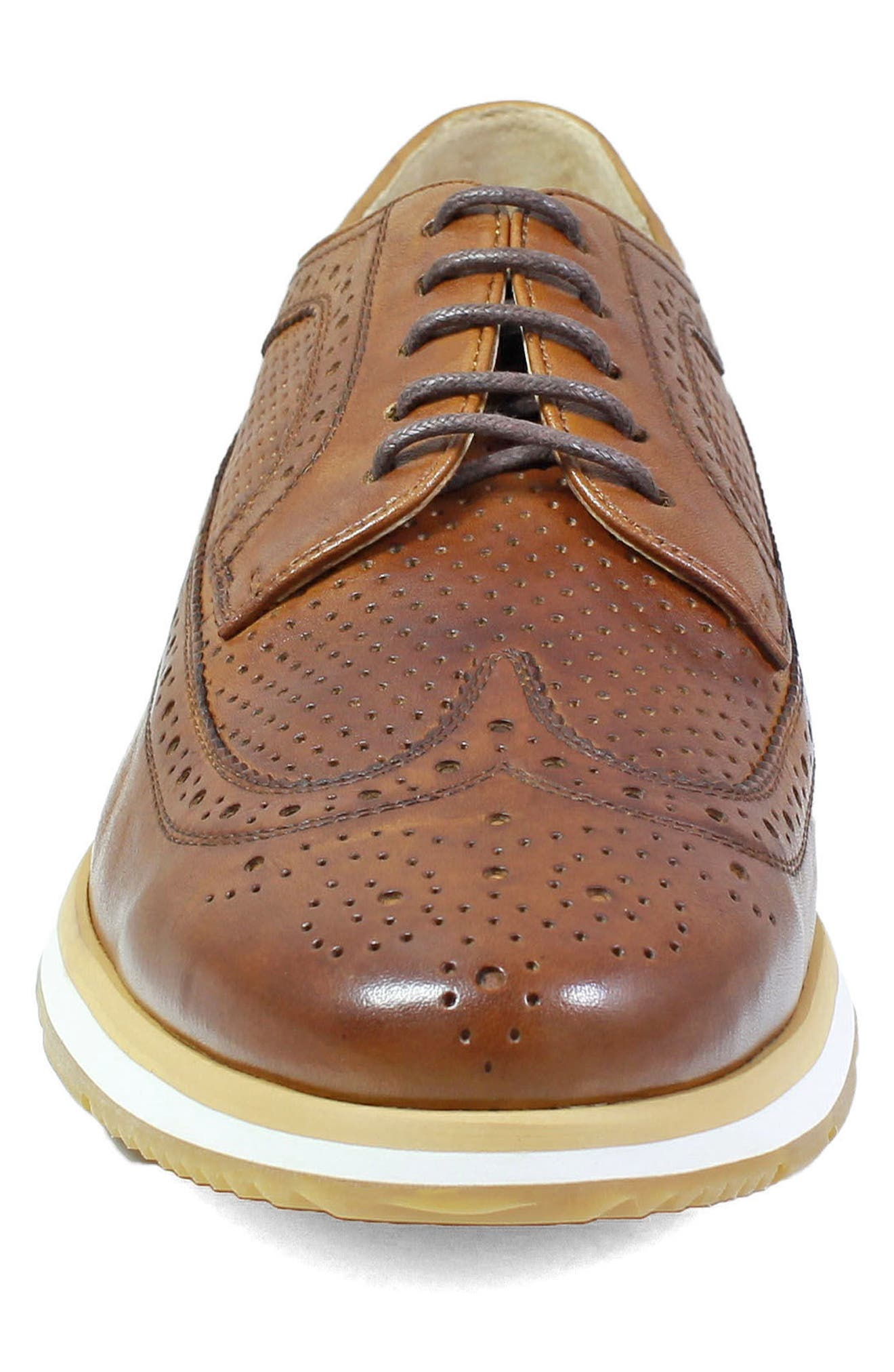 Limited Flux Perforated Wingtip Derby,                             Alternate thumbnail 10, color,
