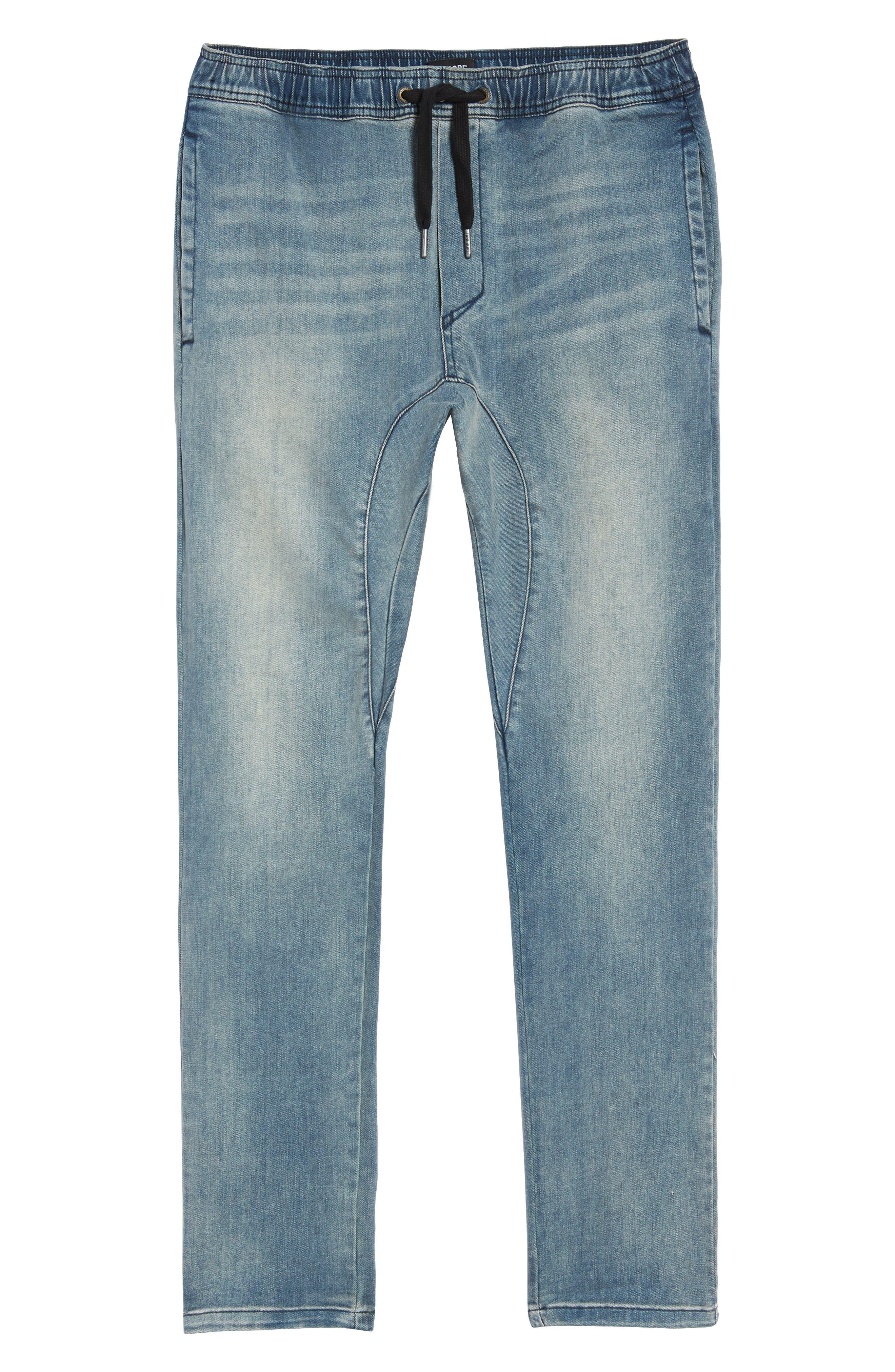 Salerno Flex Jeans,                             Alternate thumbnail 6, color,                             ABANDONED BLUE