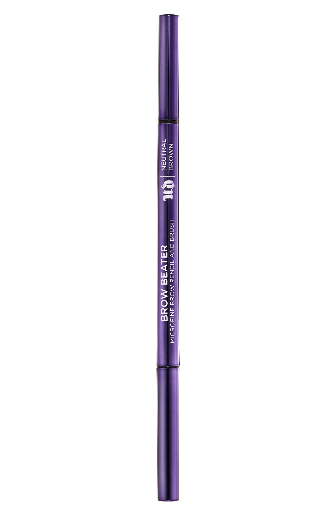 Brow Beater Microfine Brow Pencil & Brush,                             Alternate thumbnail 2, color,                             NEUTRAL BROWN