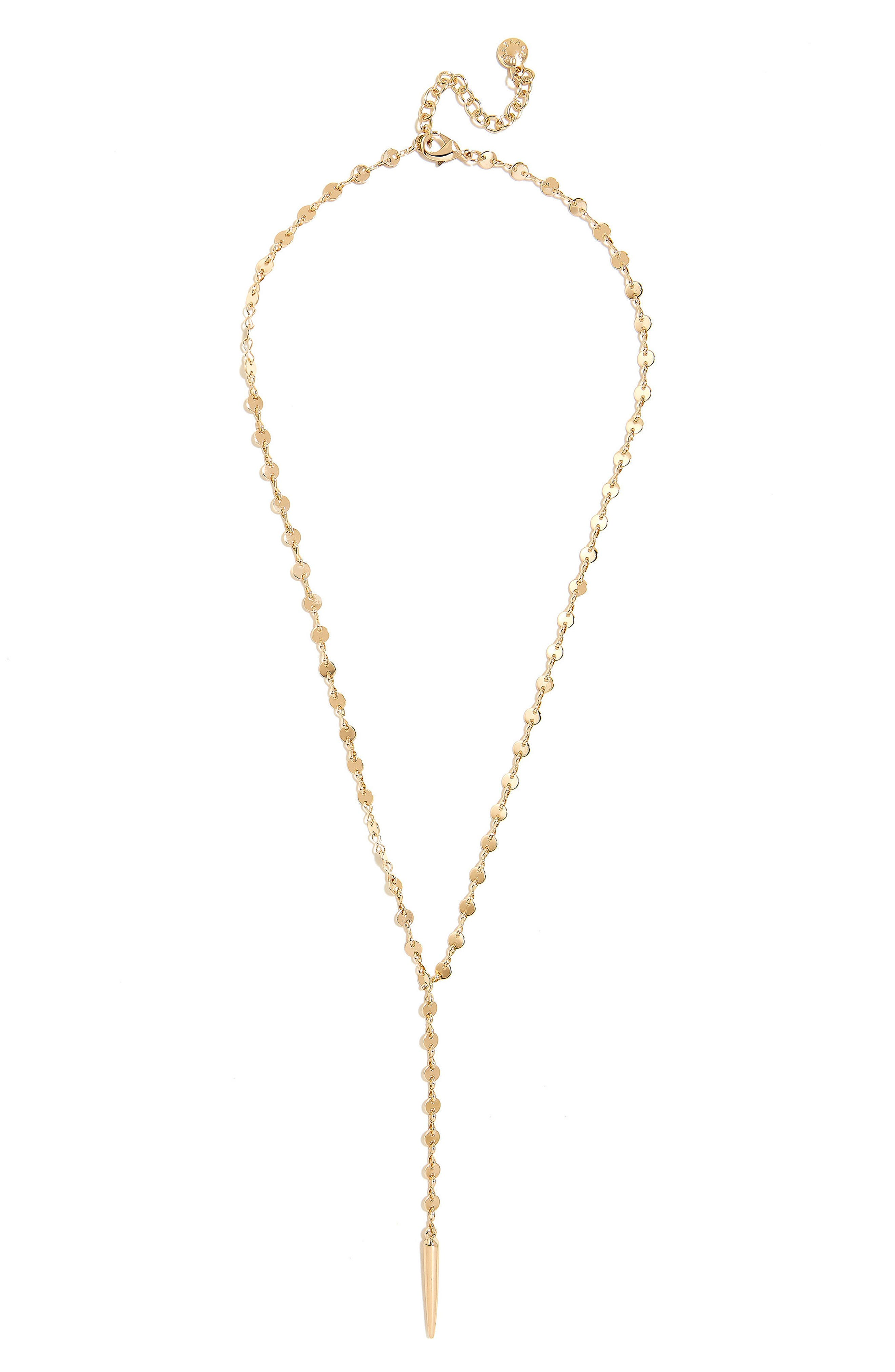Claire Y-Necklace,                         Main,                         color, GOLD